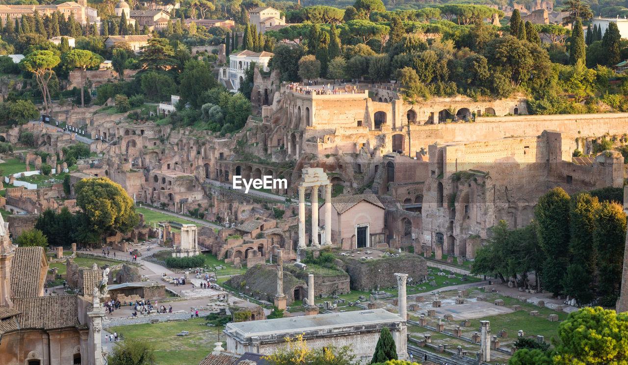 Roman Forum In City