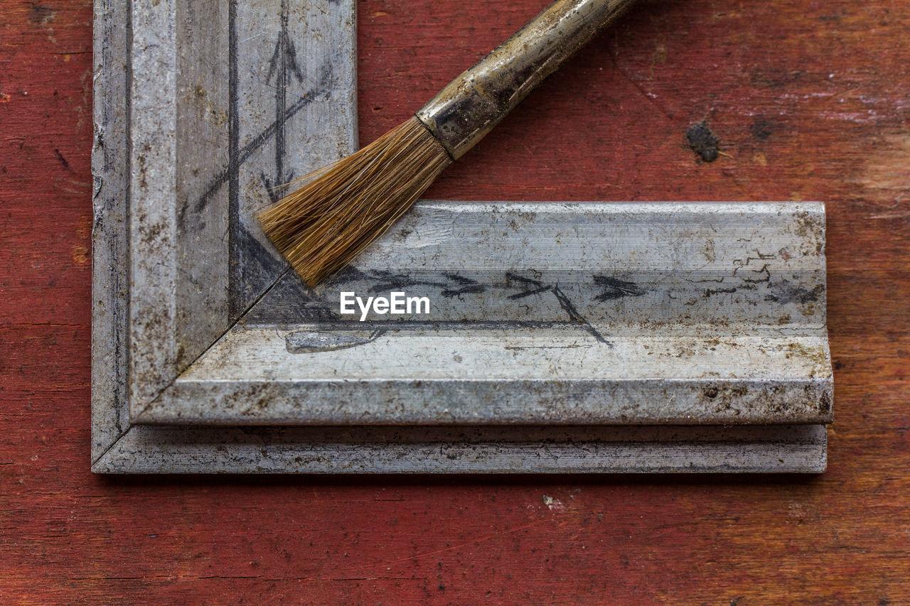 Close-Up Of Paintbrush