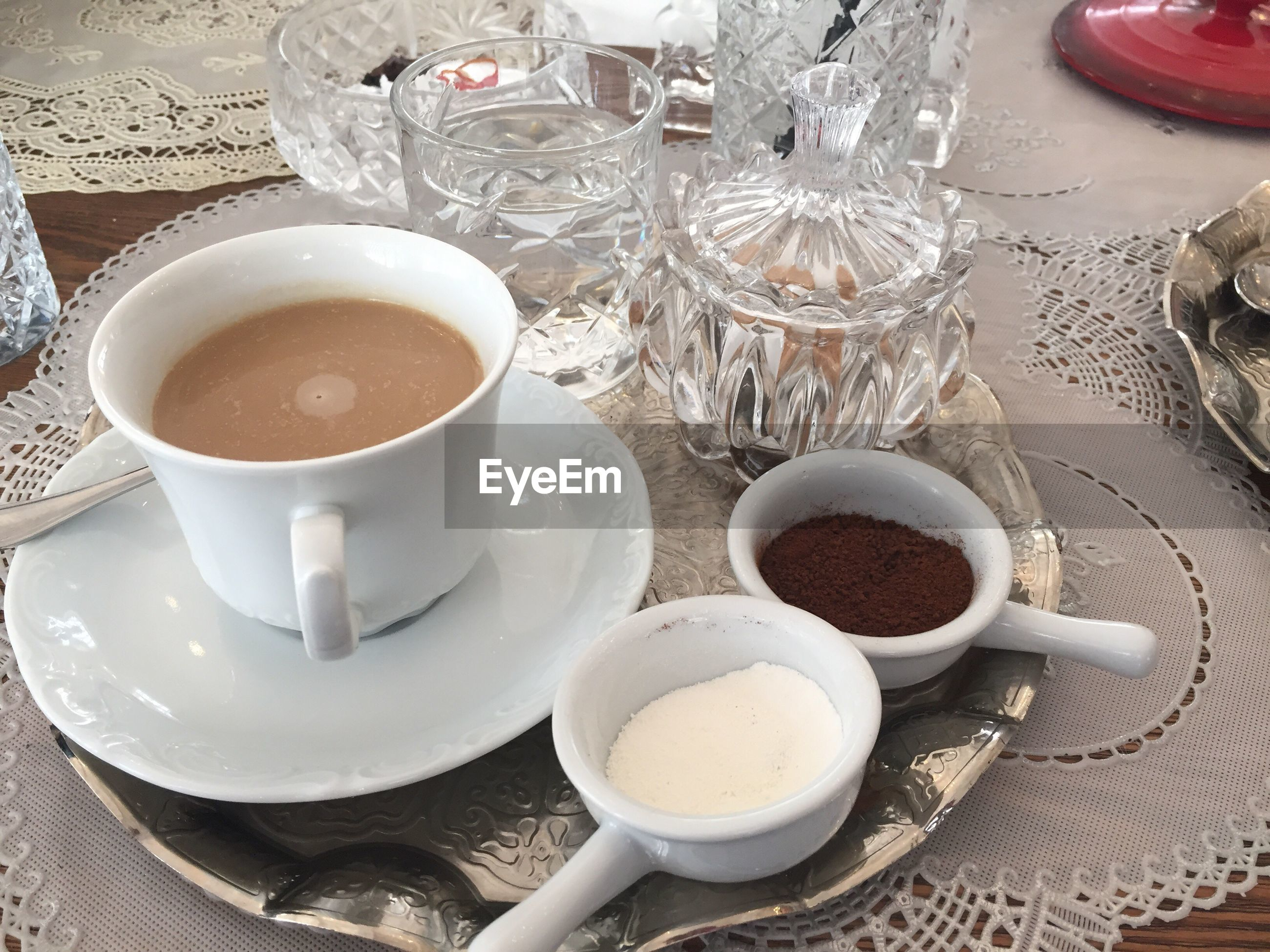 drink, coffee cup, cup, no people, food and drink, indoors, plate, table, close-up, day