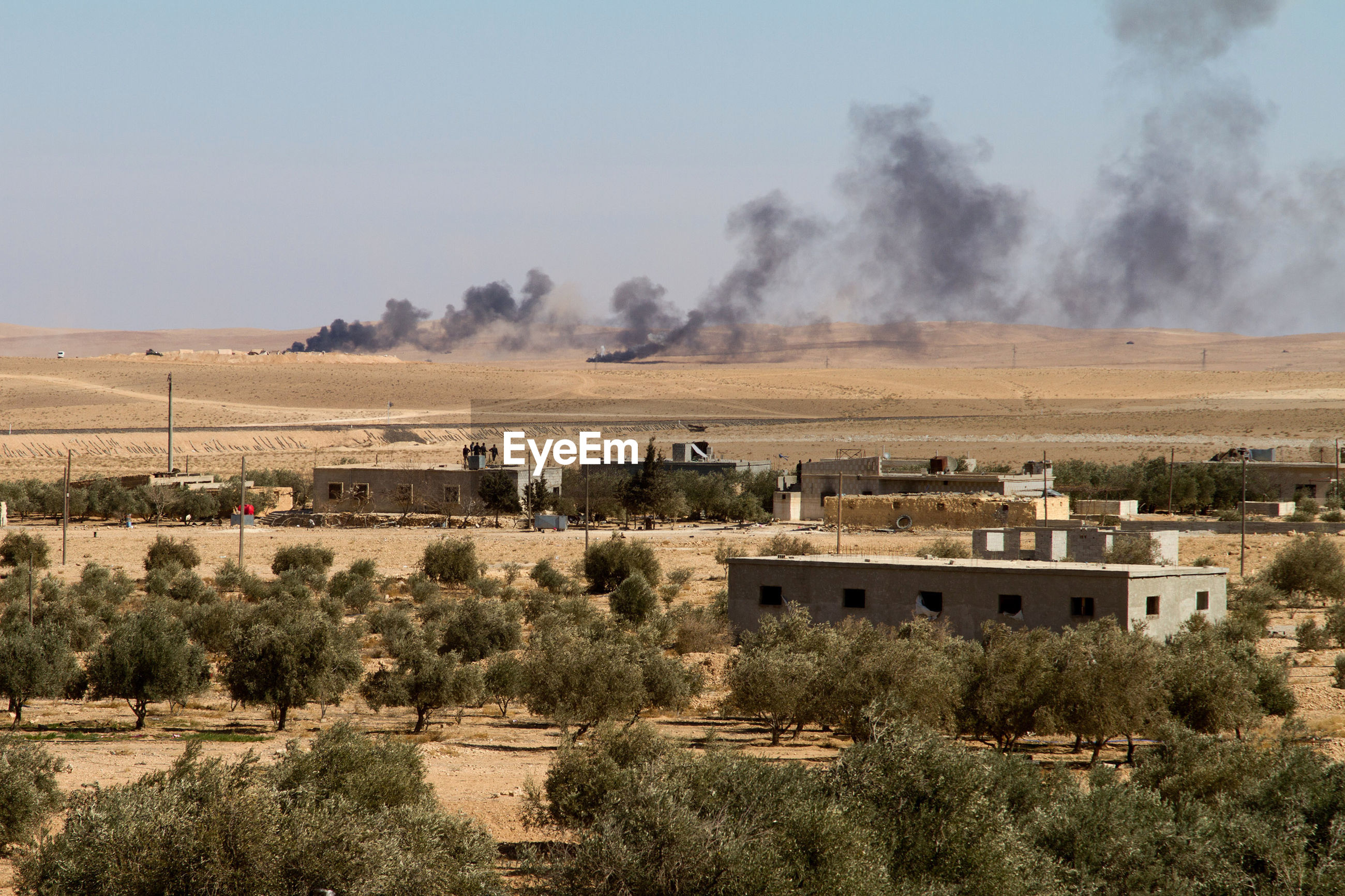 Battle with isis, maheen, syria