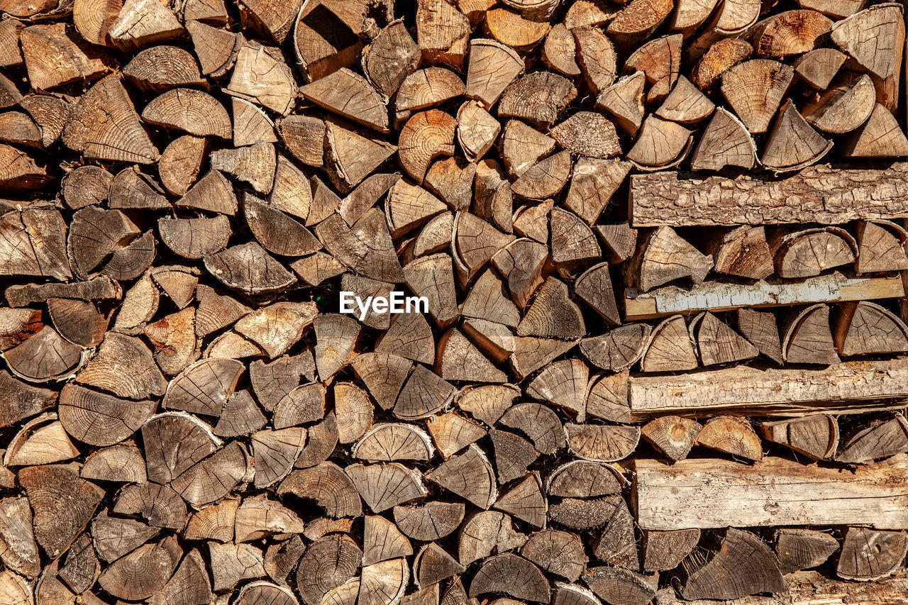 full frame, backgrounds, log, firewood, large group of objects, wood, timber, wood - material, abundance, forest, lumber industry, tree, deforestation, pattern, no people, stack, textured, environmental issues, brown, nature, woodpile, outdoors, chopped