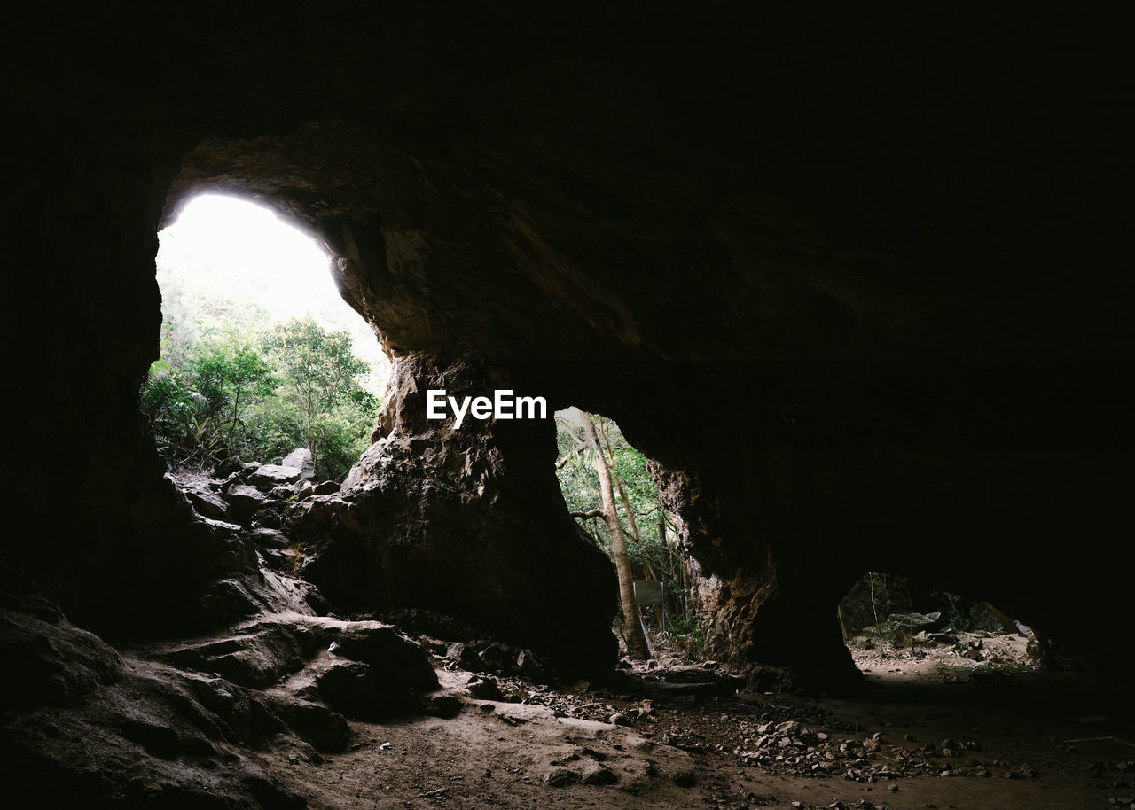 rock formation, cave, rock - object, nature, indoors, natural arch, geology, stalactite, light at the end of the tunnel, tranquility, beauty in nature, physical geography, day, no people, scenics, under