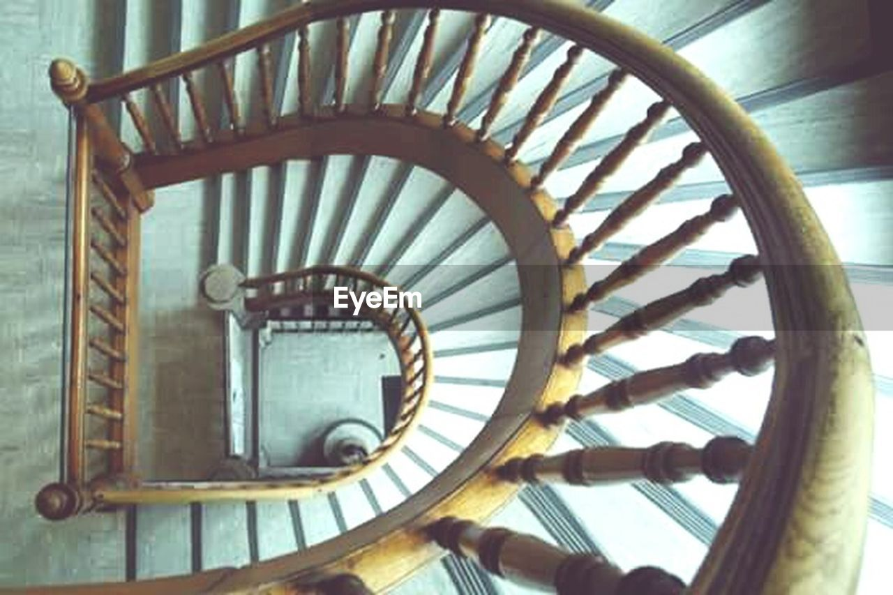 STAIRCASE OF SPIRAL STAIRCASE