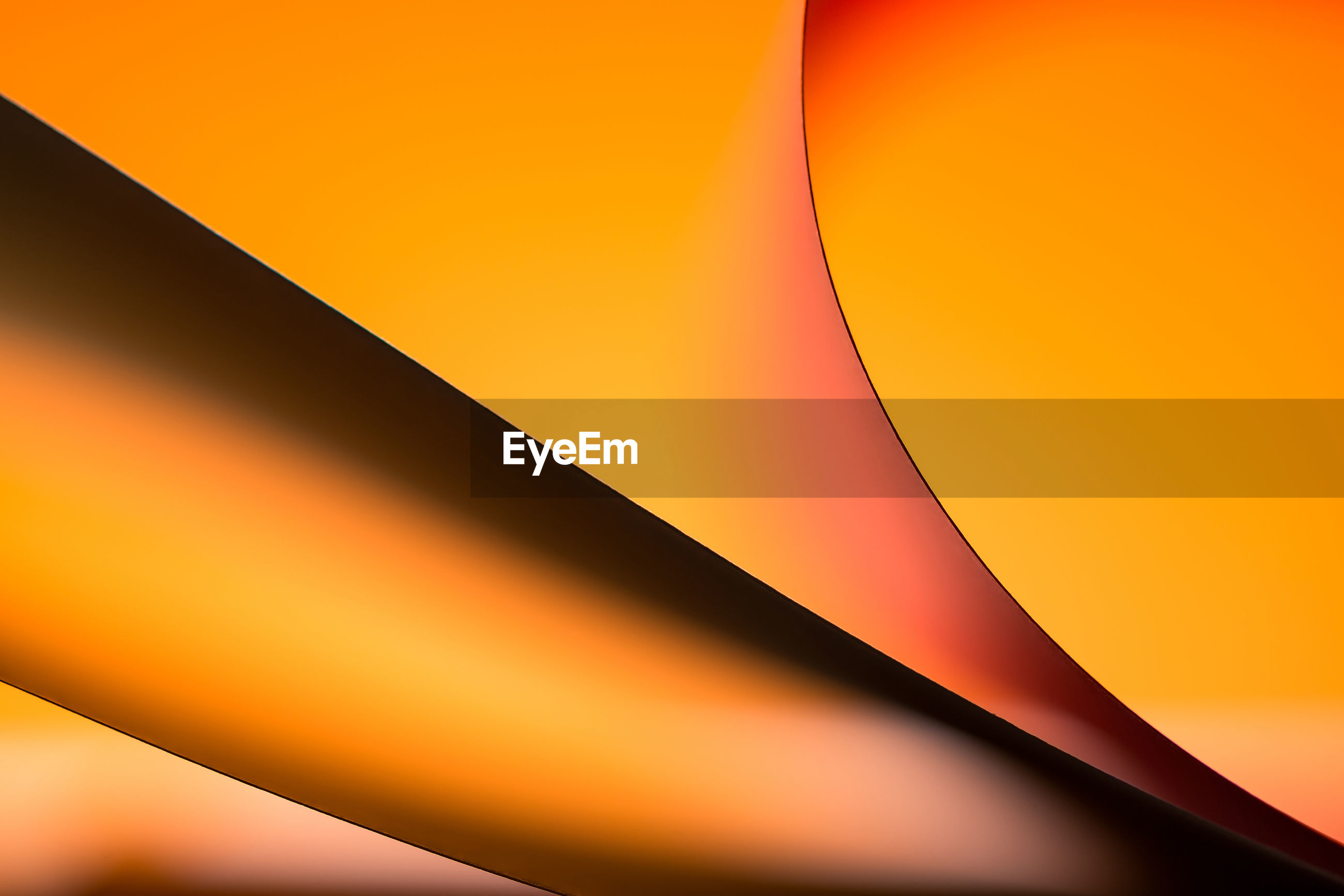 ABSTRACT IMAGE OF ORANGE SKY