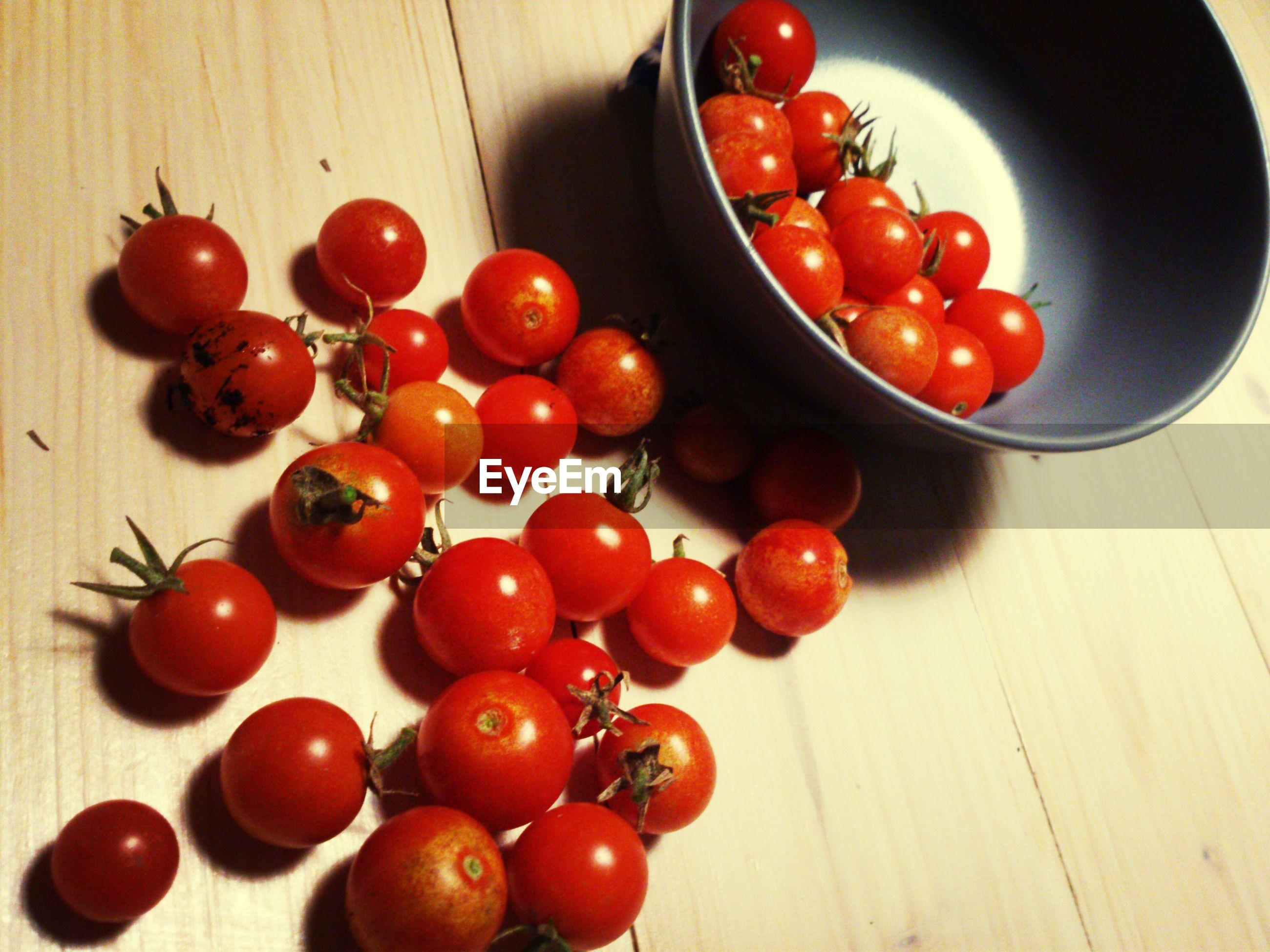 FULL FRAME OF TOMATOES