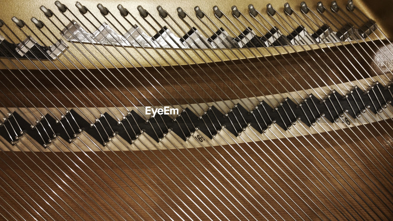 musical instrument, music, piano, piano key, pattern, close-up, indoors, no people, classical music, day