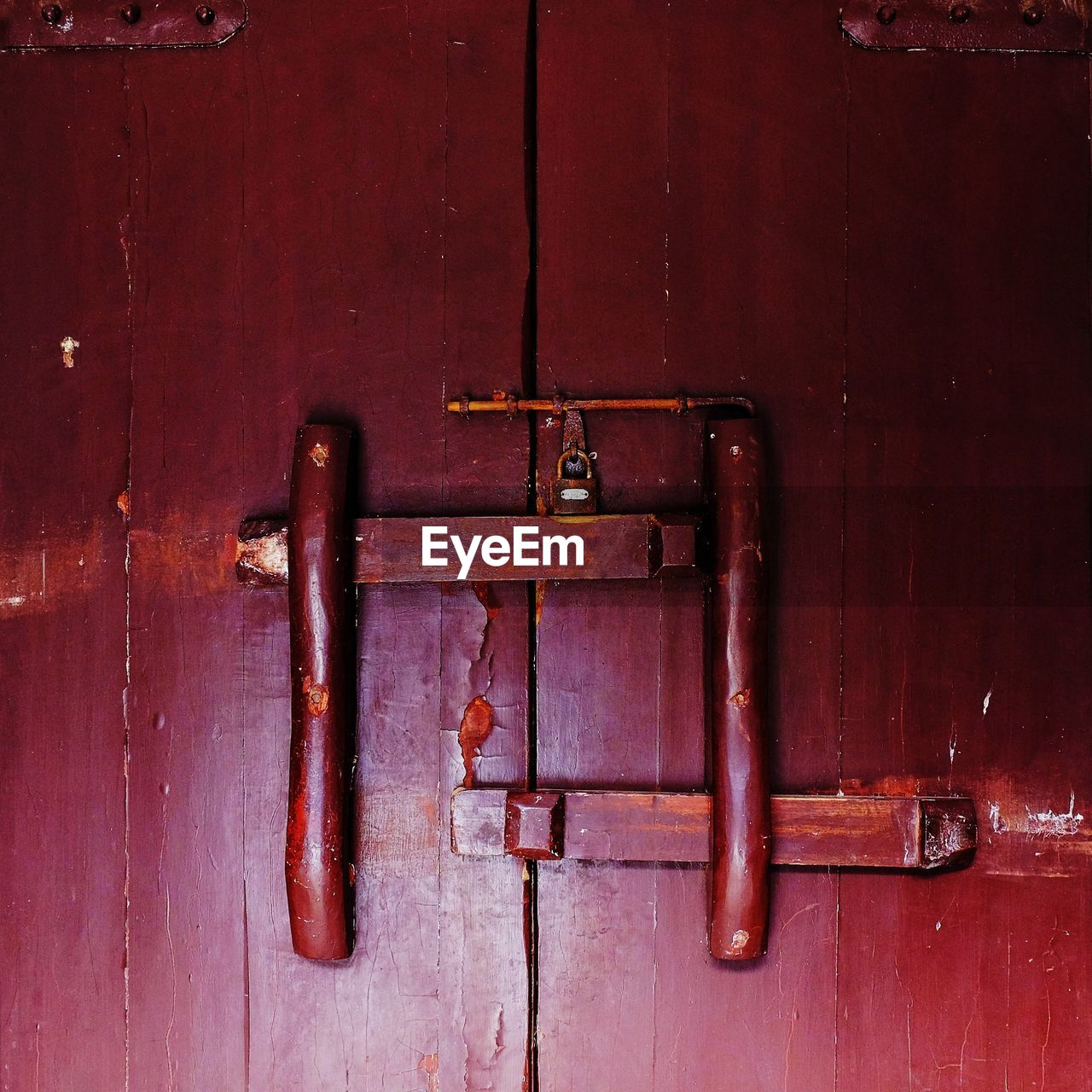 door, metal, safety, latch, security, protection, no people, rusty, close-up, wood - material, lock, padlock, day, outdoors