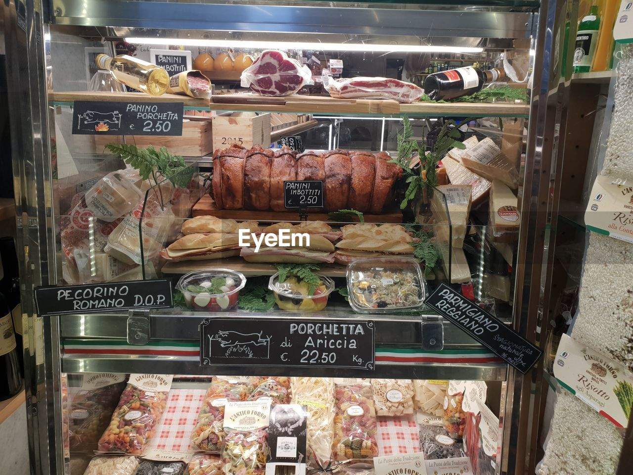 food and drink, food, freshness, text, choice, store, variation, communication, price tag, transparent, retail, for sale, number, western script, non-western script, no people, script, indoors, glass - material, still life, retail display, display cabinet, consumerism, temptation