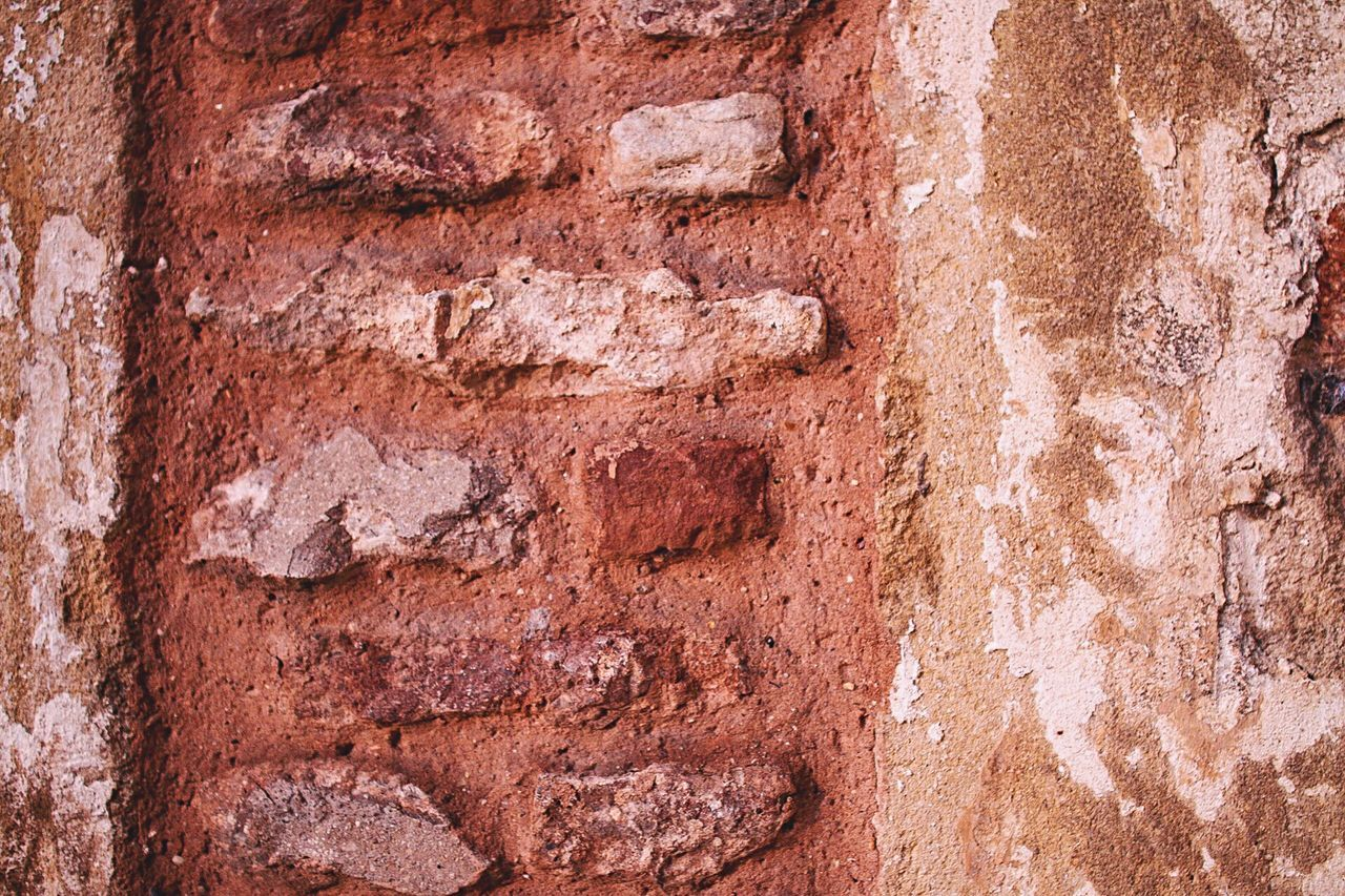 dirty, architecture, stone material, macro, built structure, backgrounds, textured, ancient, building exterior, textured effect, solid, no people, city, close-up, time, rotting, outdoors, day