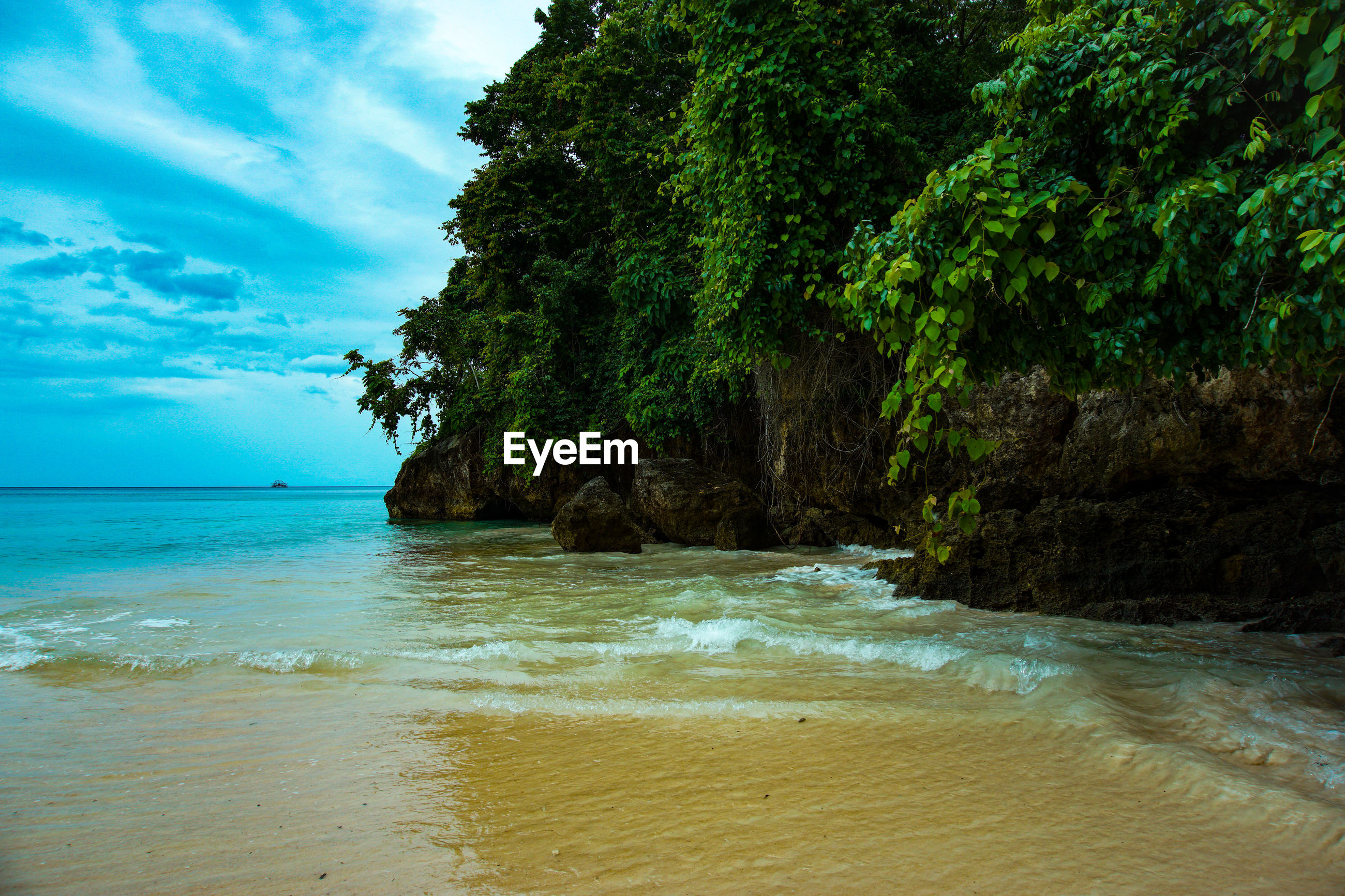 Blue bay / teluk biru, banyuwangi, indonesia