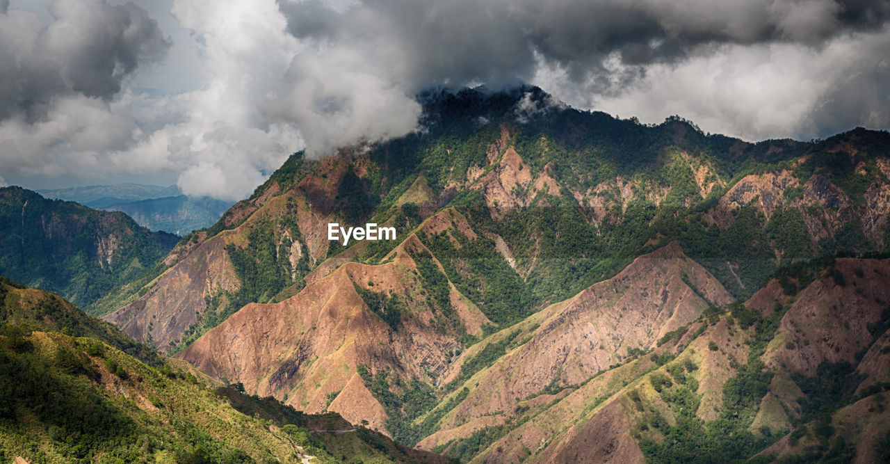 mountain, scenics - nature, beauty in nature, cloud - sky, sky, tranquil scene, tranquility, environment, mountain range, non-urban scene, no people, landscape, nature, day, idyllic, remote, physical geography, outdoors, travel, mountain peak