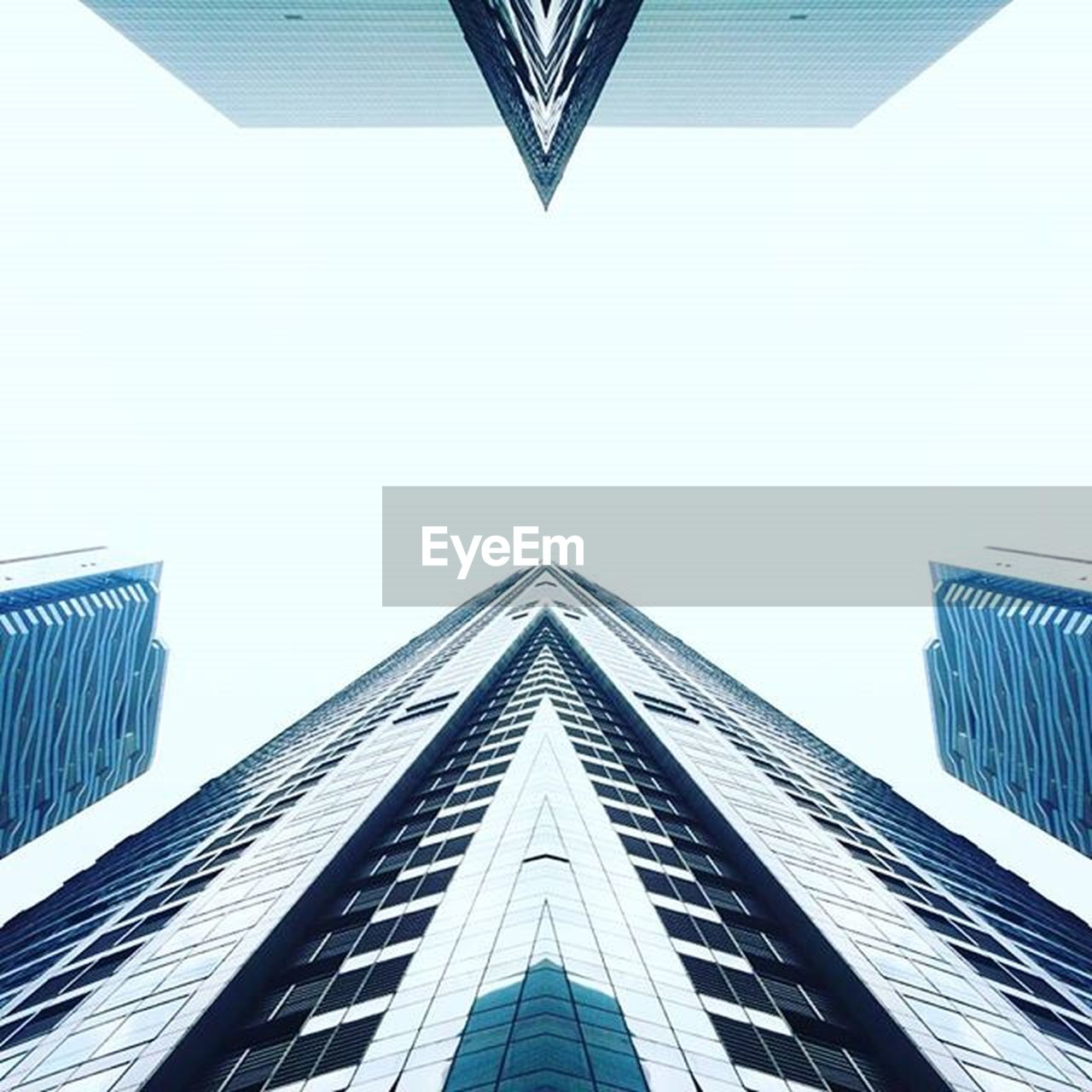 architecture, modern, built structure, low angle view, building exterior, skyscraper, no people, day, outdoors, city, clear sky, sky