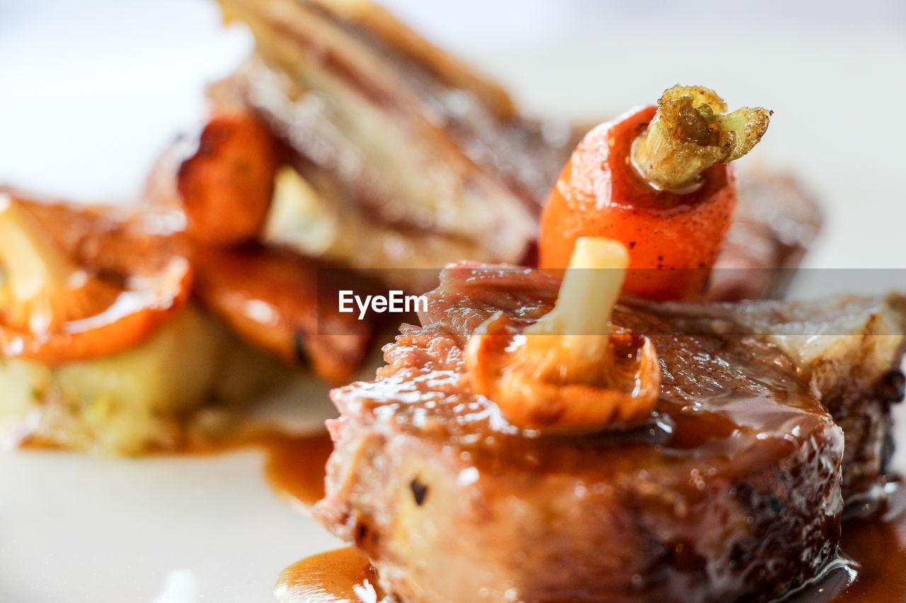 Close-Up Of Food