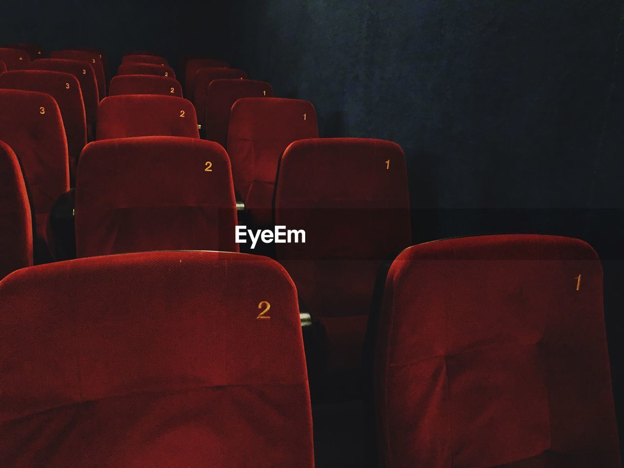Empty Seats In Movie Theater