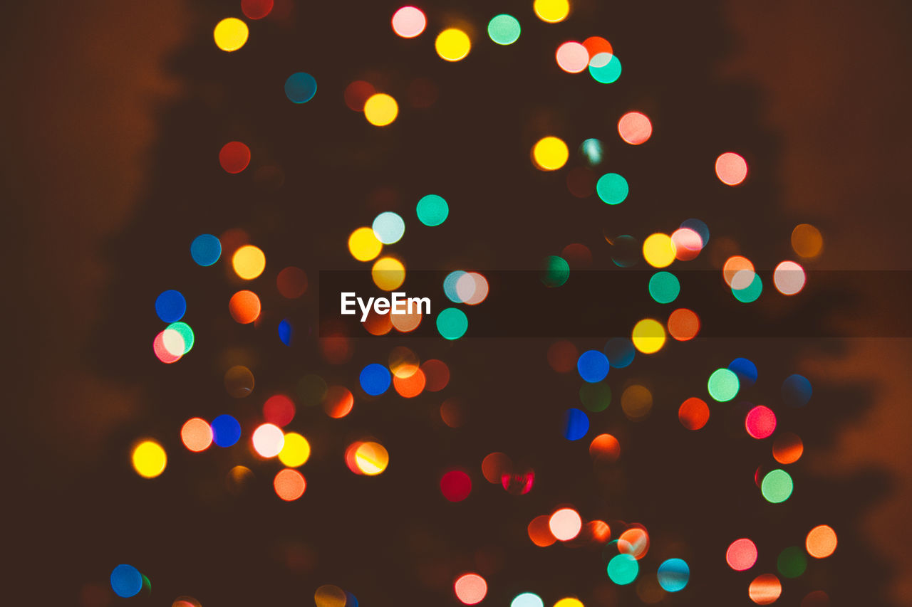 night, illuminated, glowing, celebration, no people, multi colored, defocused, close-up, outdoors