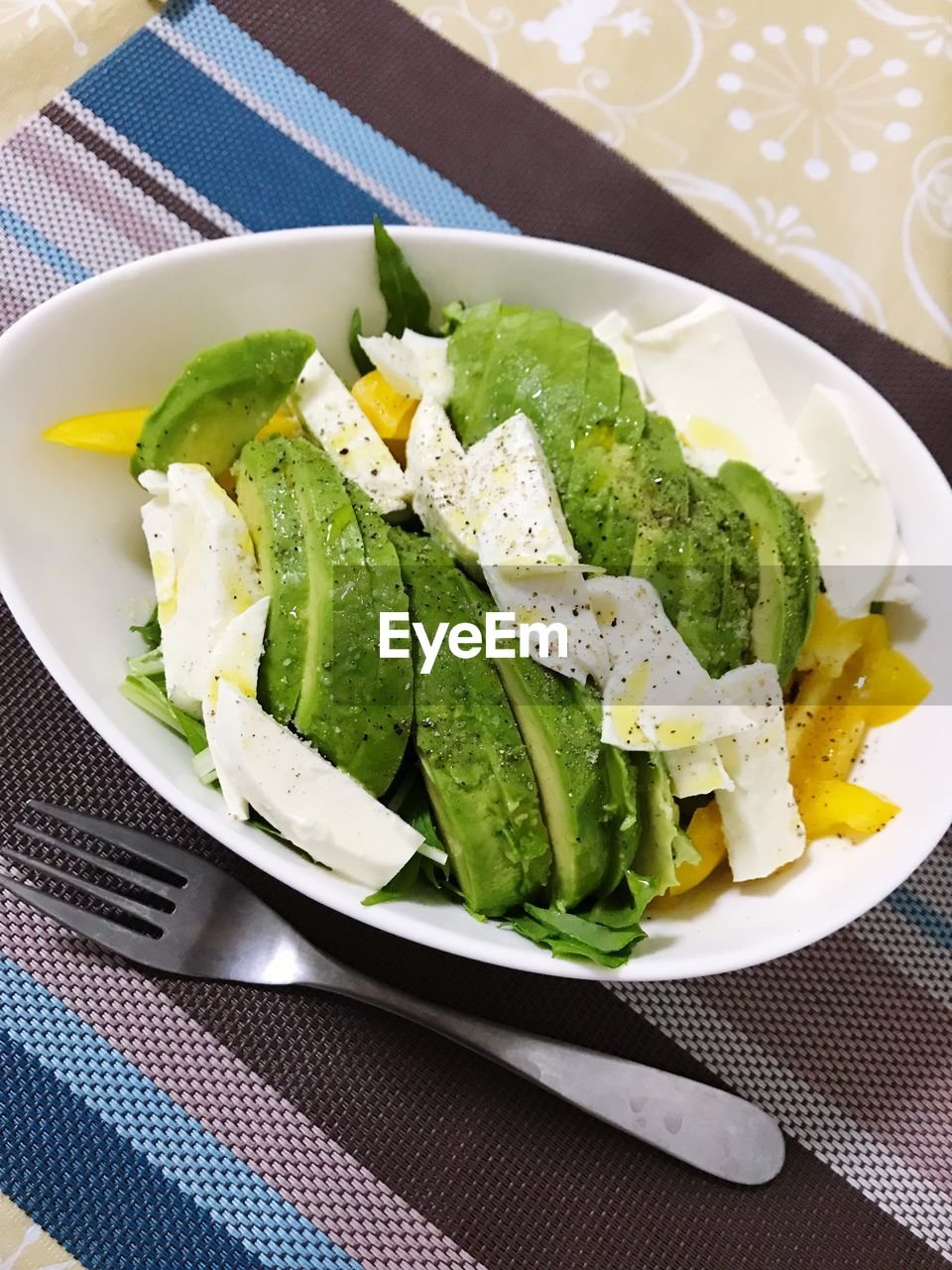 freshness, food and drink, healthy eating, plate, food, salad, no people, ready-to-eat, indoors, vegetable, close-up, feta cheese, greek food, day