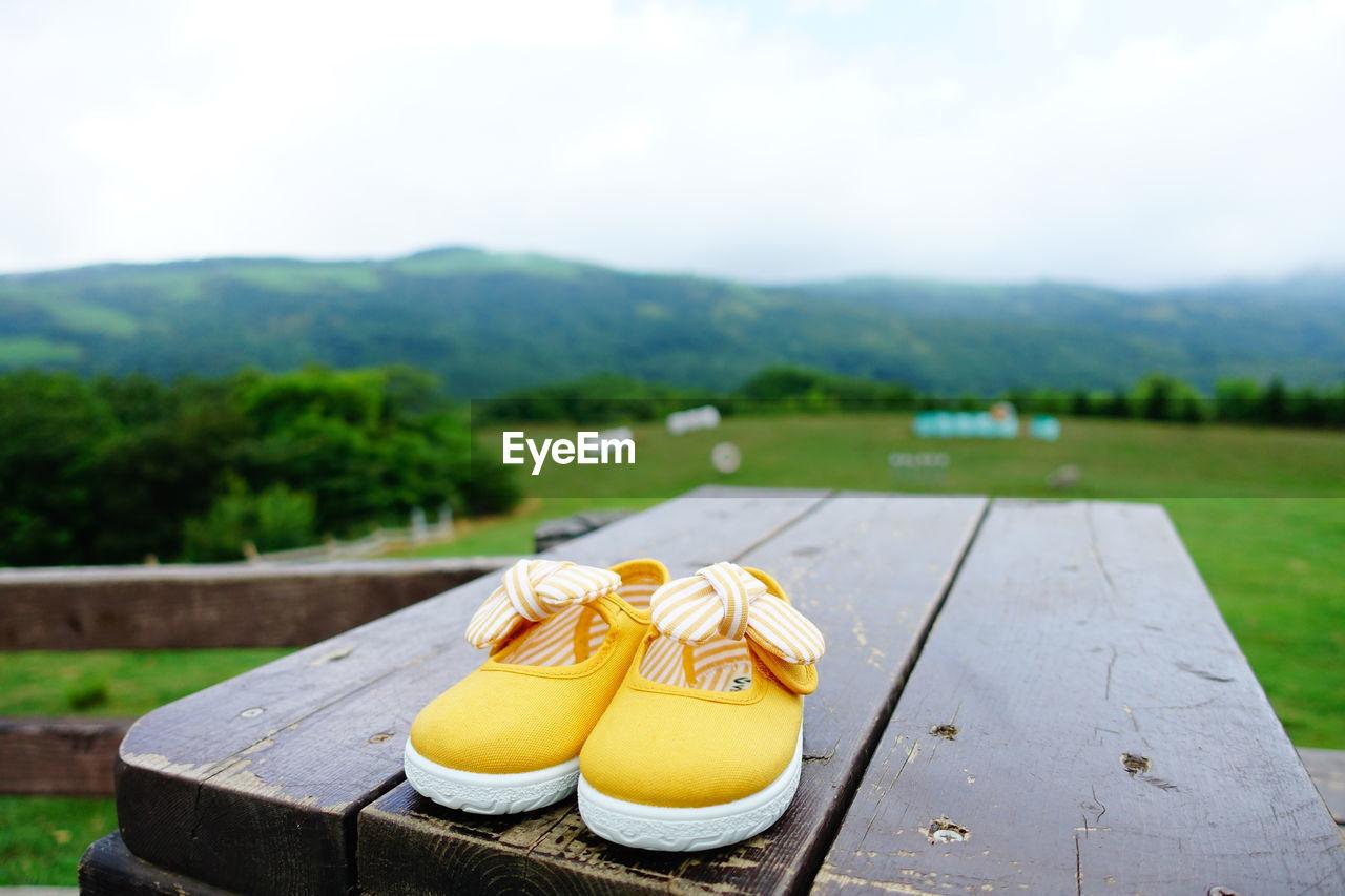 Close-Up Of Mountain Range
