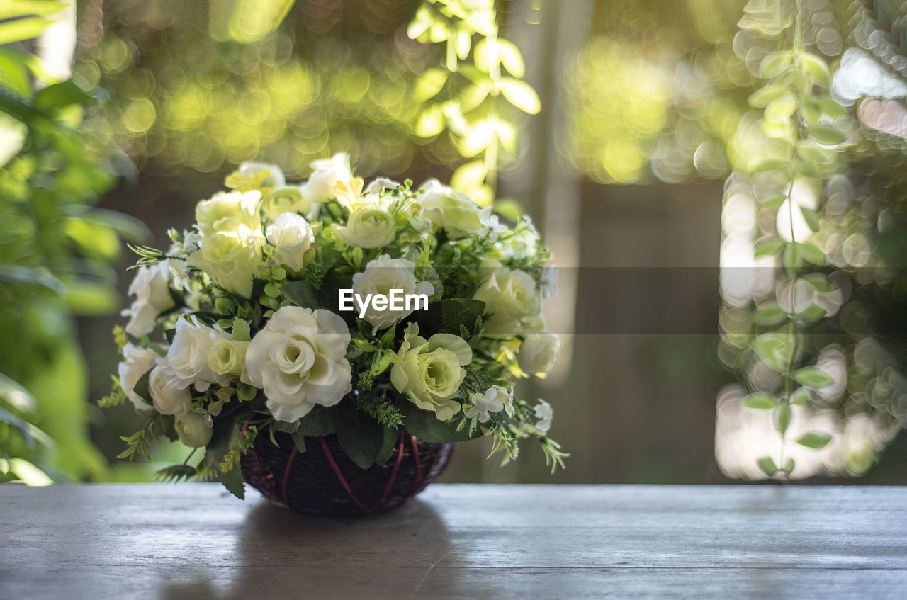 flowering plant, flower, plant, beauty in nature, freshness, nature, flower arrangement, focus on foreground, fragility, close-up, vulnerability, no people, flower head, vase, table, day, decoration, bouquet, petal, arrangement, outdoors, bunch of flowers