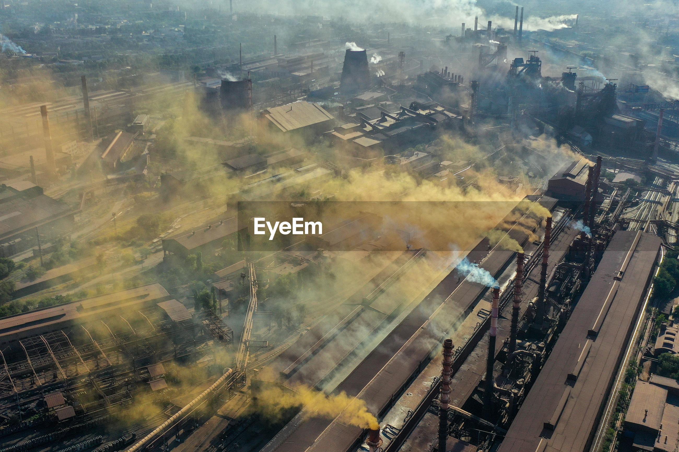 Environmental tragedy in the city of zaporozhye