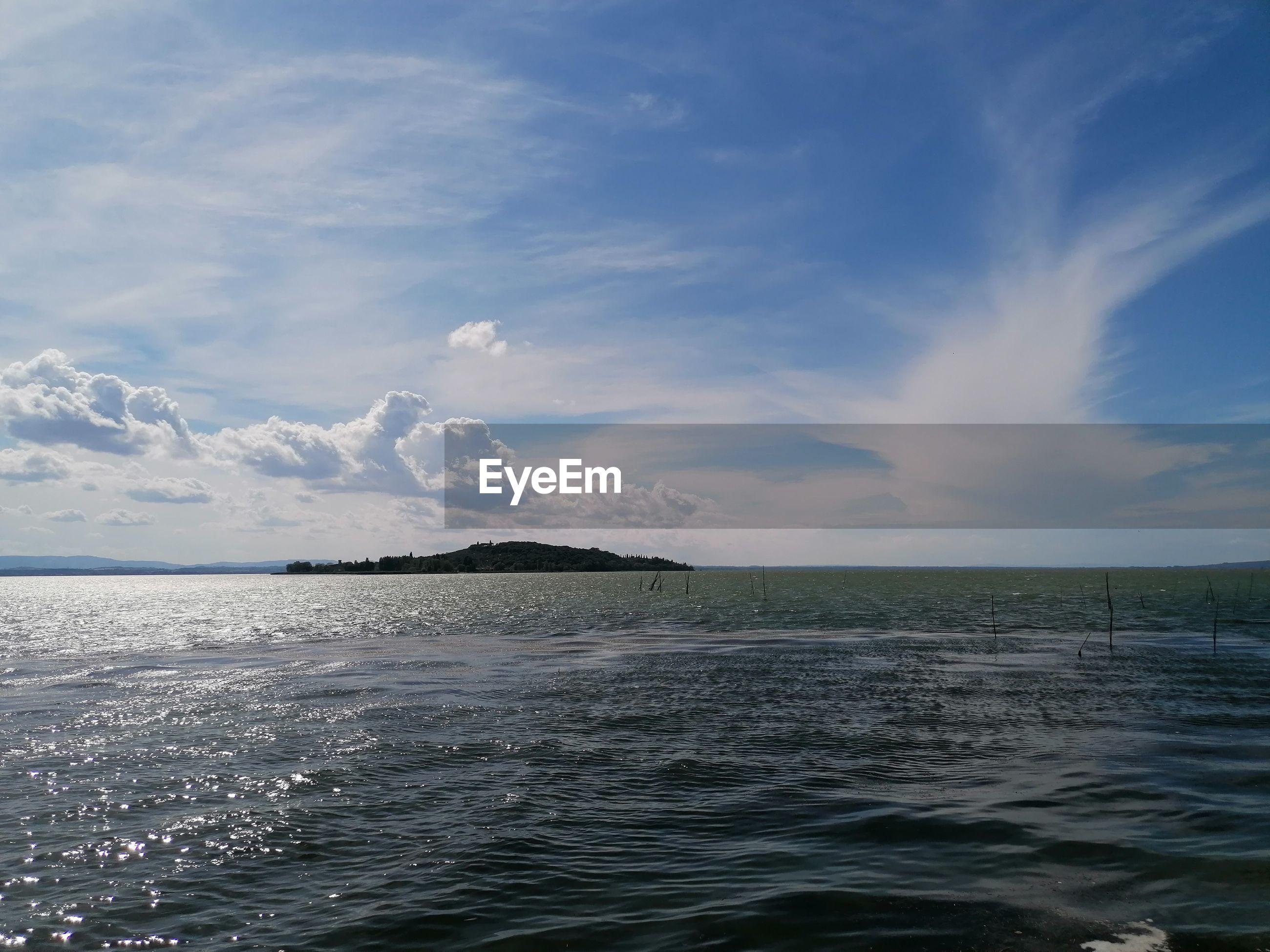 IDYLLIC SHOT OF SEA AGAINST SKY