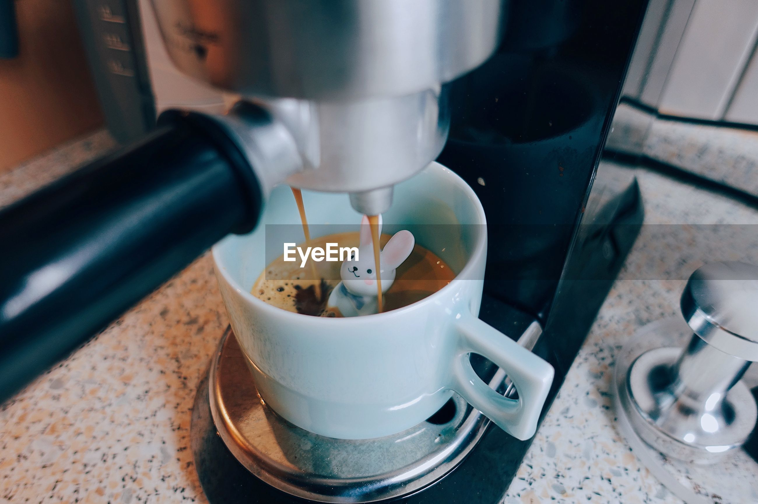 Close-up of coffee maker
