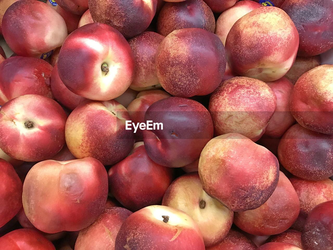 Full frame shot of rotting apples