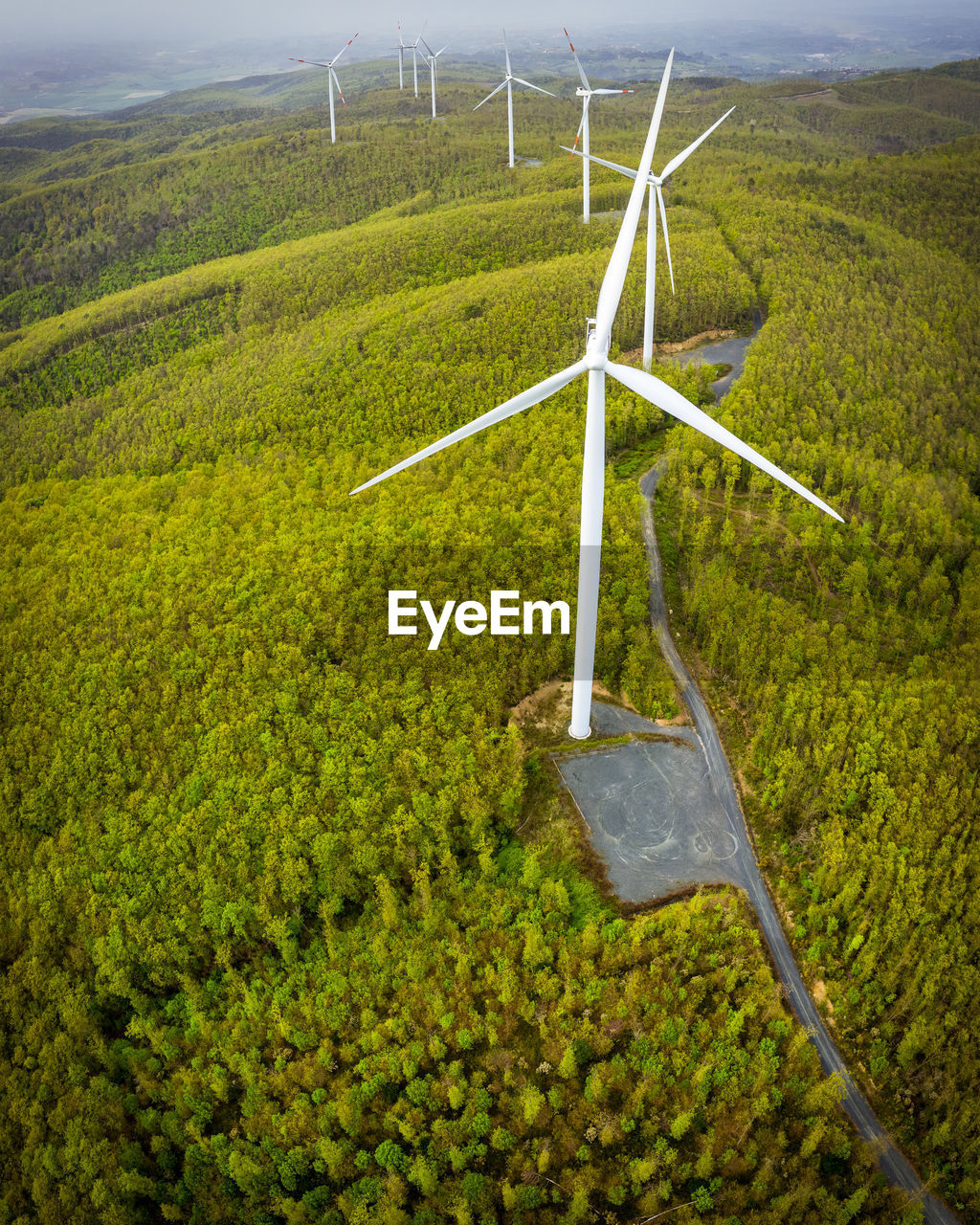 environment, landscape, plant, nature, environmental conservation, green color, land, agriculture, growth, field, rural scene, beauty in nature, no people, day, wind turbine, tranquility, fuel and power generation, scenics - nature, turbine, outdoors, sustainable resources