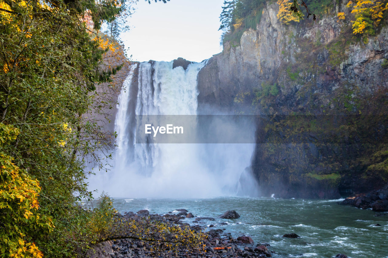 water, beauty in nature, scenics - nature, waterfall, motion, flowing water, nature, long exposure, rock, power, power in nature, tree, no people, plant, day, rock - object, land, non-urban scene, flowing, outdoors, falling water