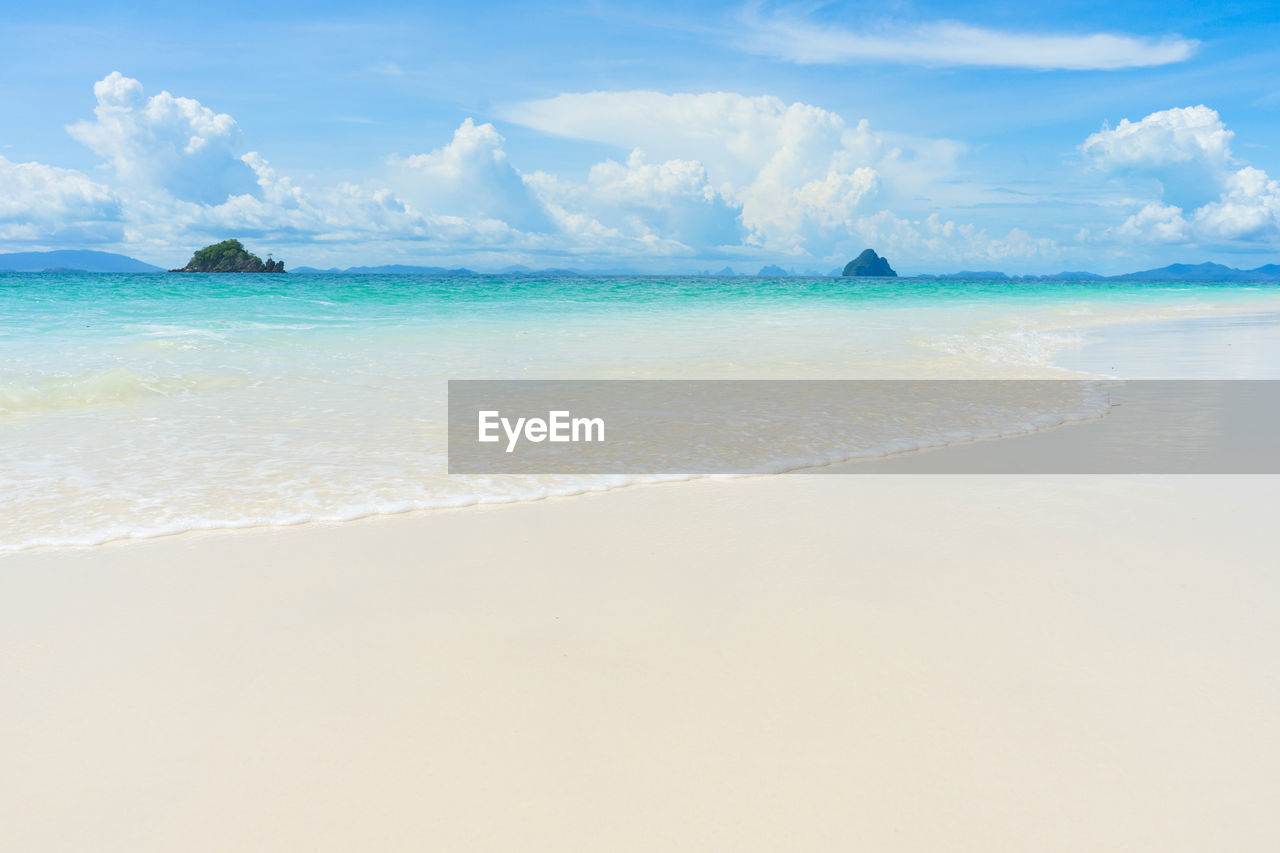 sea, beach, land, water, beauty in nature, sky, scenics - nature, horizon over water, cloud - sky, tranquility, horizon, tranquil scene, idyllic, sand, day, nature, non-urban scene, no people, outdoors, turquoise colored