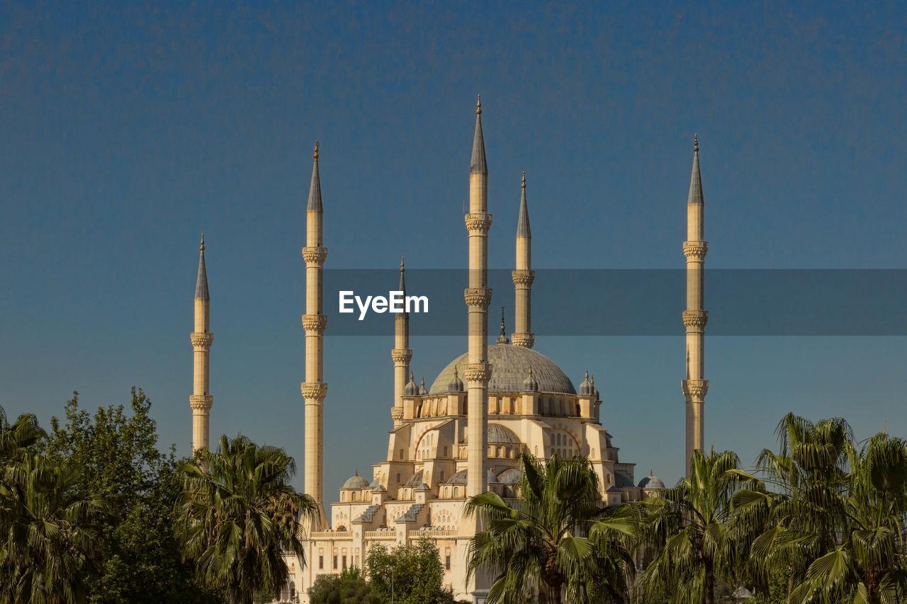 Majestic Mosque In Turkey