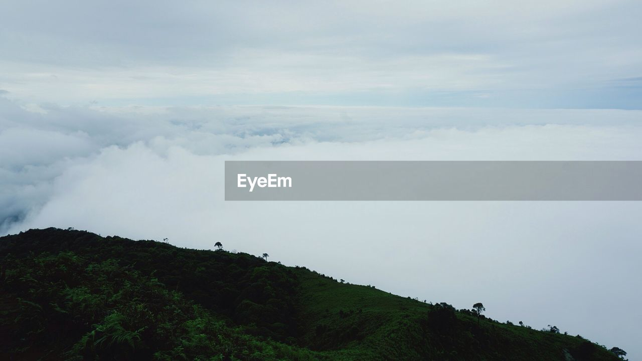 nature, beauty in nature, sky, tranquility, tranquil scene, cloud - sky, scenics, day, outdoors, no people, landscape, mountain, tree