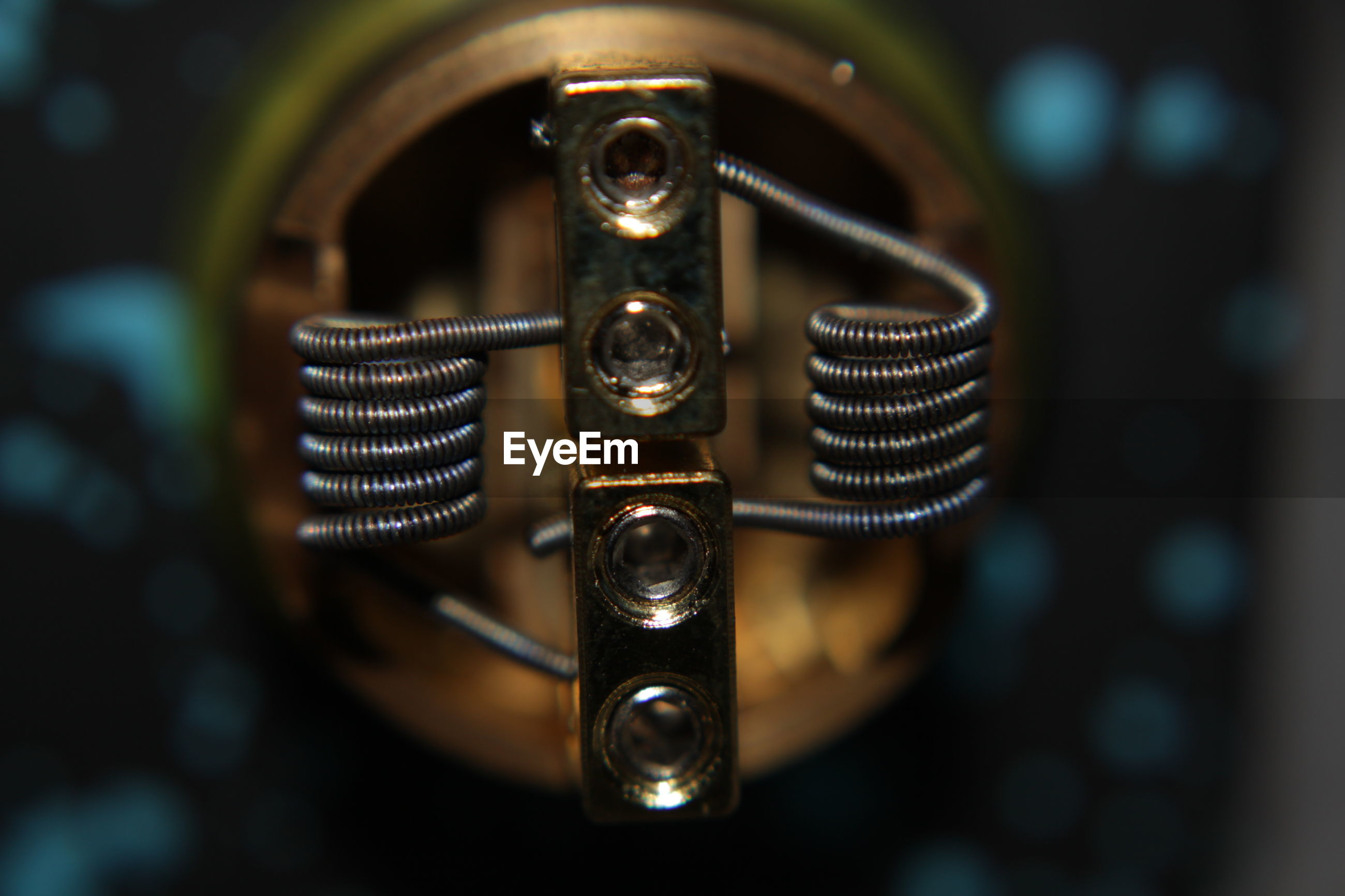 Close-up of electronic cigarette