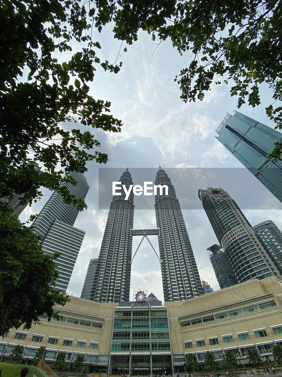 LOW ANGLE VIEW OF BUILDINGS IN CITY