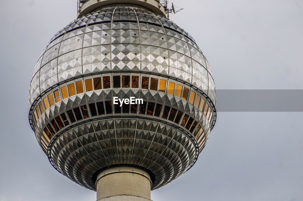 Architectural detail of communication tower