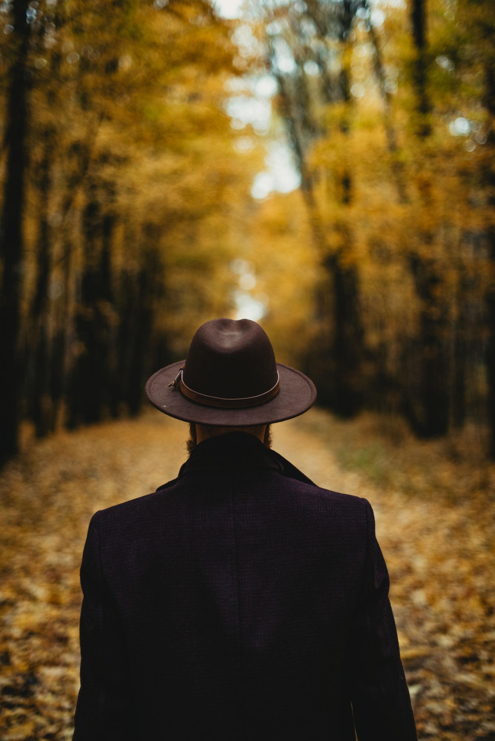 Autumn style man