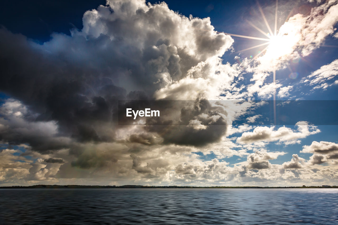 sky, sea, sunlight, sun, nature, beauty in nature, scenics, tranquility, water, outdoors, no people, day