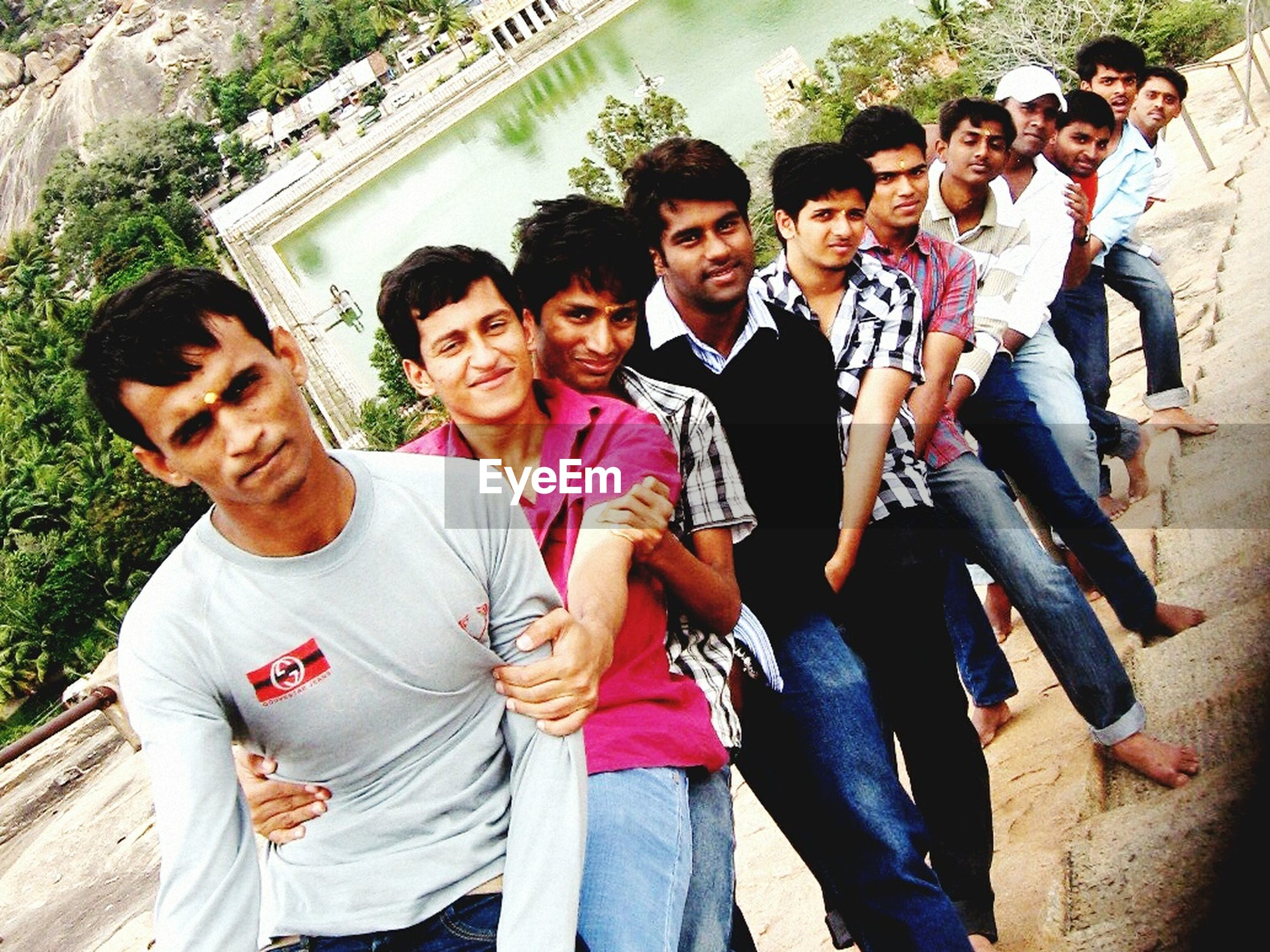 togetherness, lifestyles, bonding, leisure activity, love, casual clothing, friendship, person, happiness, family, smiling, young men, men, full length, boys, fun, enjoyment, young adult