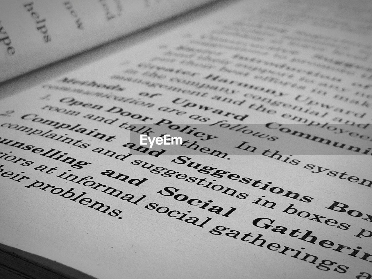 text, paper, western script, no people, close-up, indoors, publication, number, communication, book, education, still life, high angle view, selective focus, full frame, page, literature, backgrounds, script, message