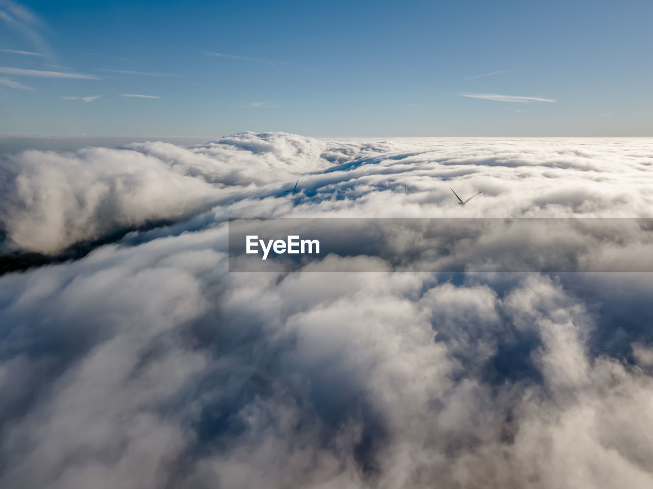 cloud - sky, sky, scenics - nature, beauty in nature, tranquility, cloudscape, no people, nature, tranquil scene, aerial view, white color, idyllic, day, outdoors, blue, fluffy, softness, backgrounds, heaven, mid-air, above, meteorology