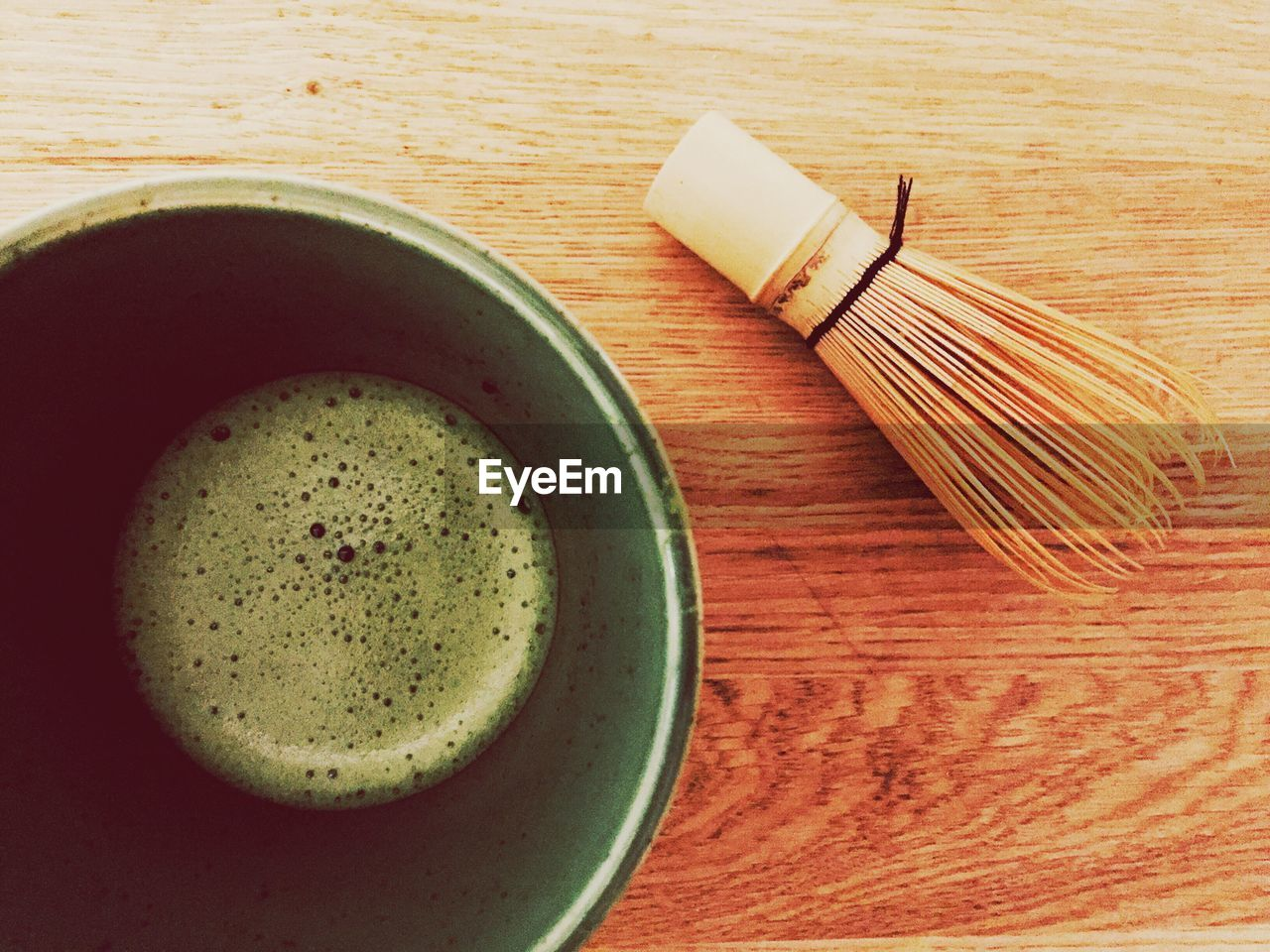 drink, food and drink, table, freshness, refreshment, healthy eating, directly above, no people, close-up, indoors, matcha tea, frothy drink, green tea, food, ready-to-eat