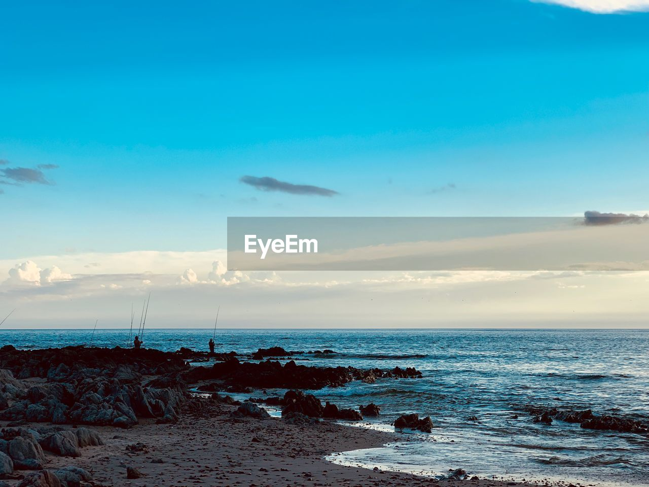 sea, sky, water, cloud - sky, horizon over water, scenics - nature, horizon, beauty in nature, tranquil scene, beach, tranquility, land, nature, no people, outdoors, blue, non-urban scene, day, idyllic