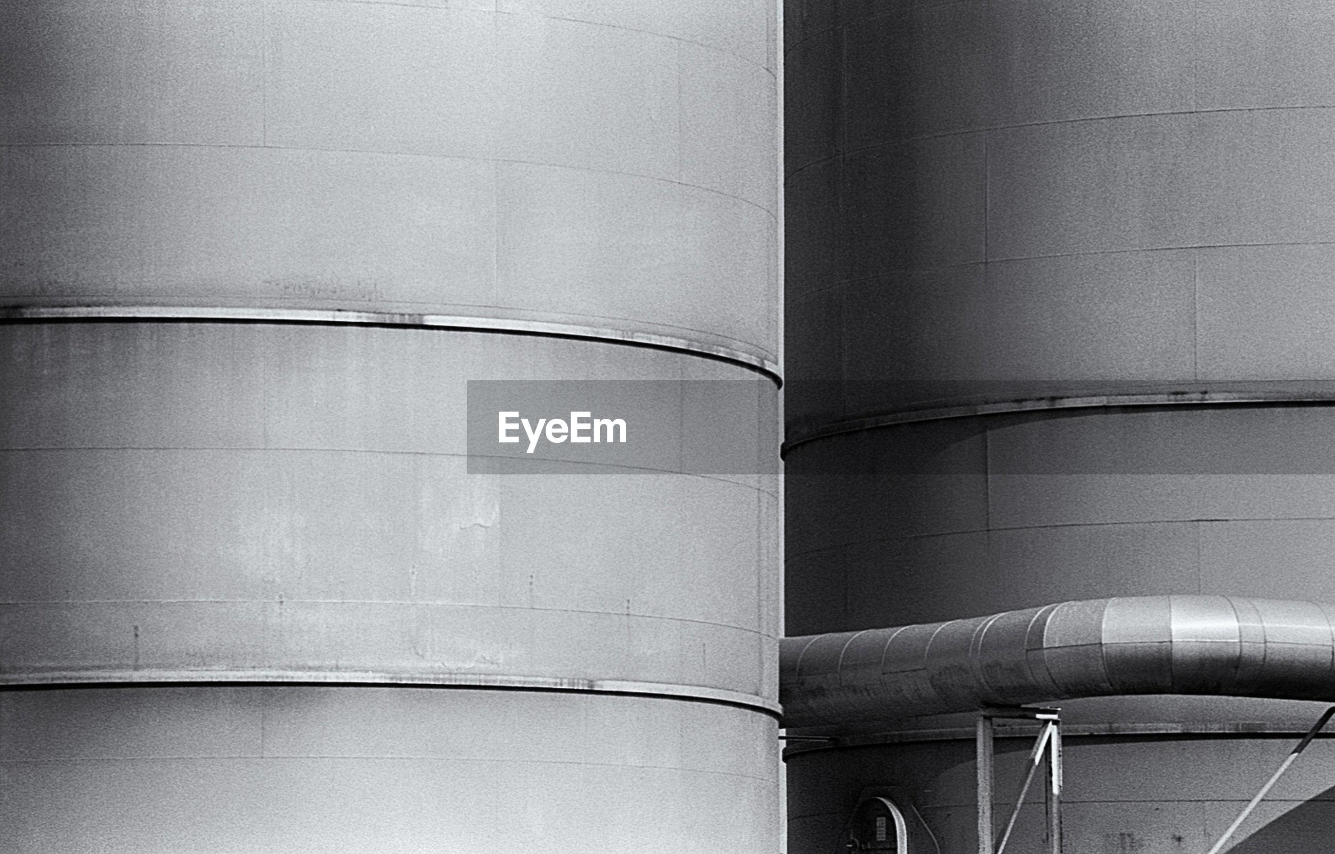Full frame shot of silos