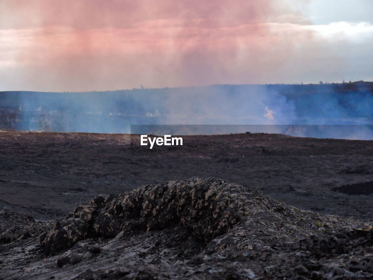 geology, smoke - physical structure, nature, landscape, no people, volcanic landscape, physical geography, power in nature, rock - object, volcano, sky, scenics, erupting, steam, beauty in nature, outdoors, geyser, heat - temperature, day, volcanic crater, lava, tranquil scene, hot spring, tranquility, mountain, cloud - sky, motion, ash, water, close-up, molten