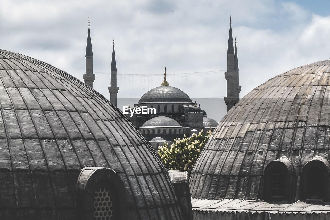 Mosque Against Sky