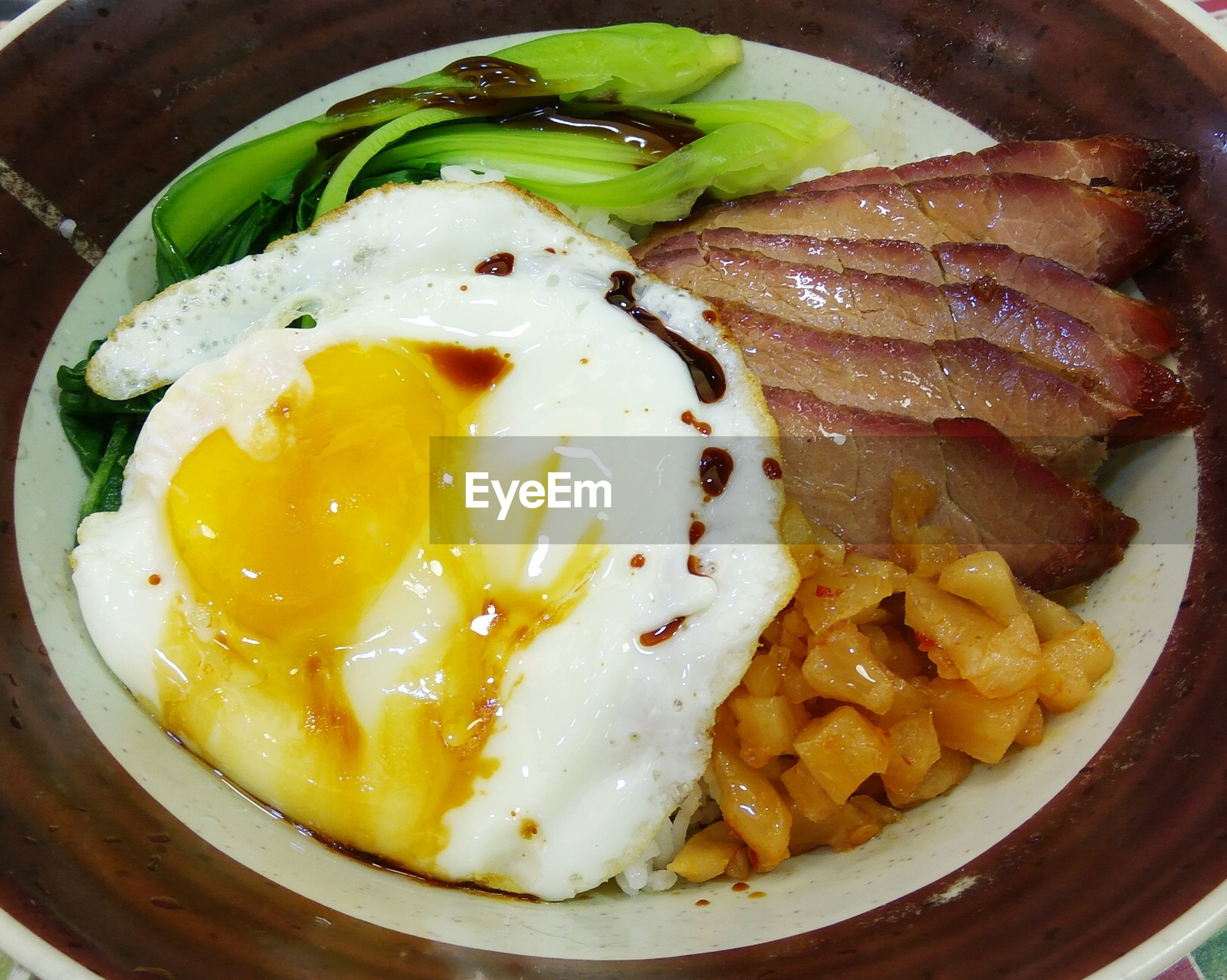 food and drink, food, indoors, plate, egg yolk, freshness, egg, close-up, ready-to-eat, meal, healthy eating, yellow, fried egg, appetizer, cooked, serving size, temptation, indulgence, savory food, garnish, serving dish