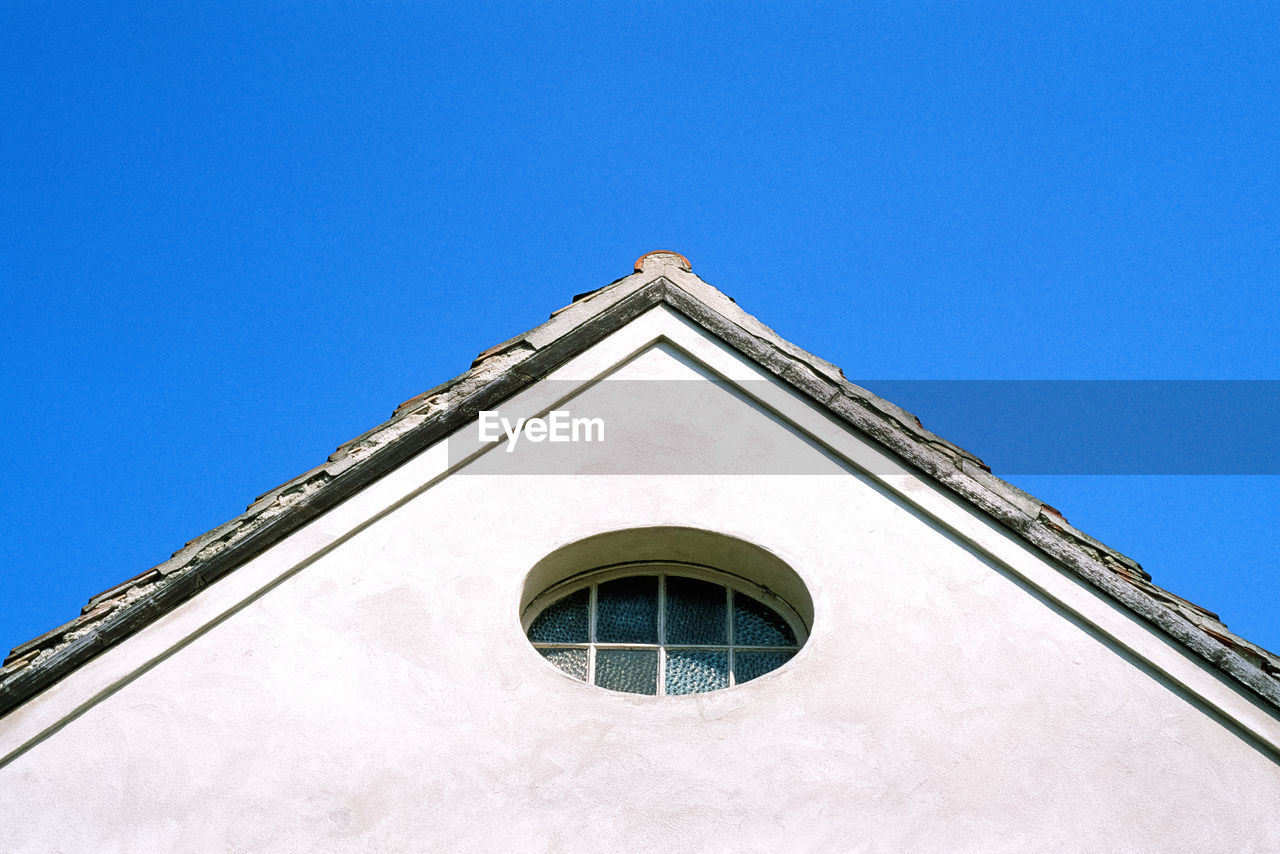 High Section Of Building Against Sky