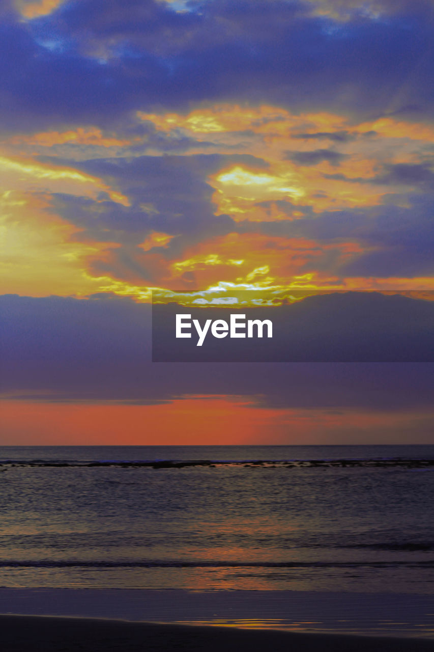 sky, sunset, water, sea, cloud - sky, scenics - nature, beauty in nature, horizon over water, horizon, tranquility, tranquil scene, nature, orange color, no people, idyllic, beach, land, outdoors, dramatic sky