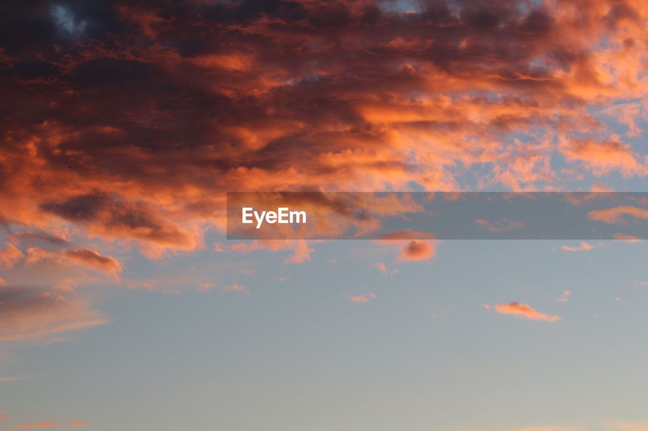 nature, sky, beauty in nature, sunset, cloudscape, tranquility, scenics, no people, cloud - sky, sky only, outdoors, scenery, day