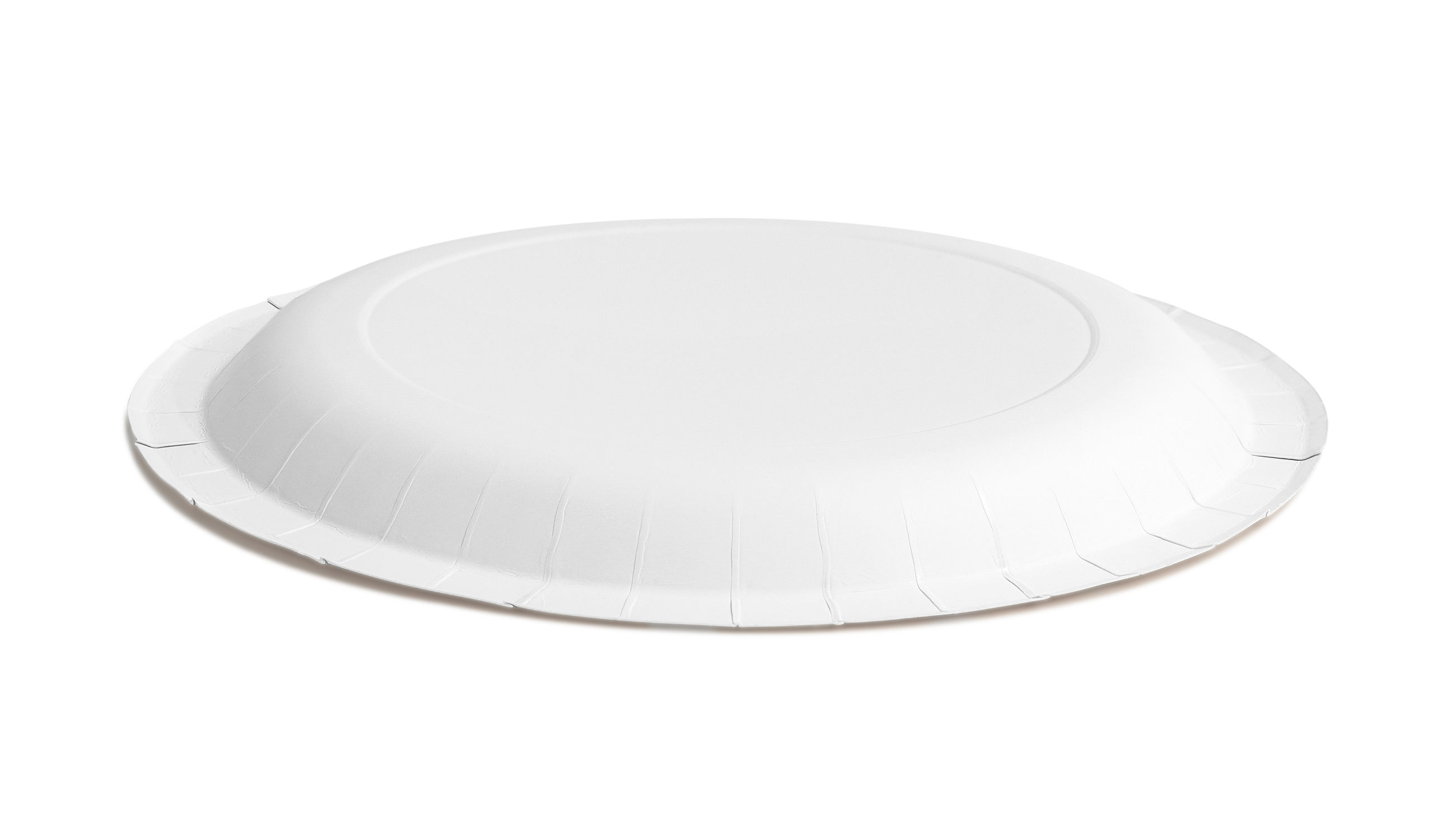 Close-up of plate over white background
