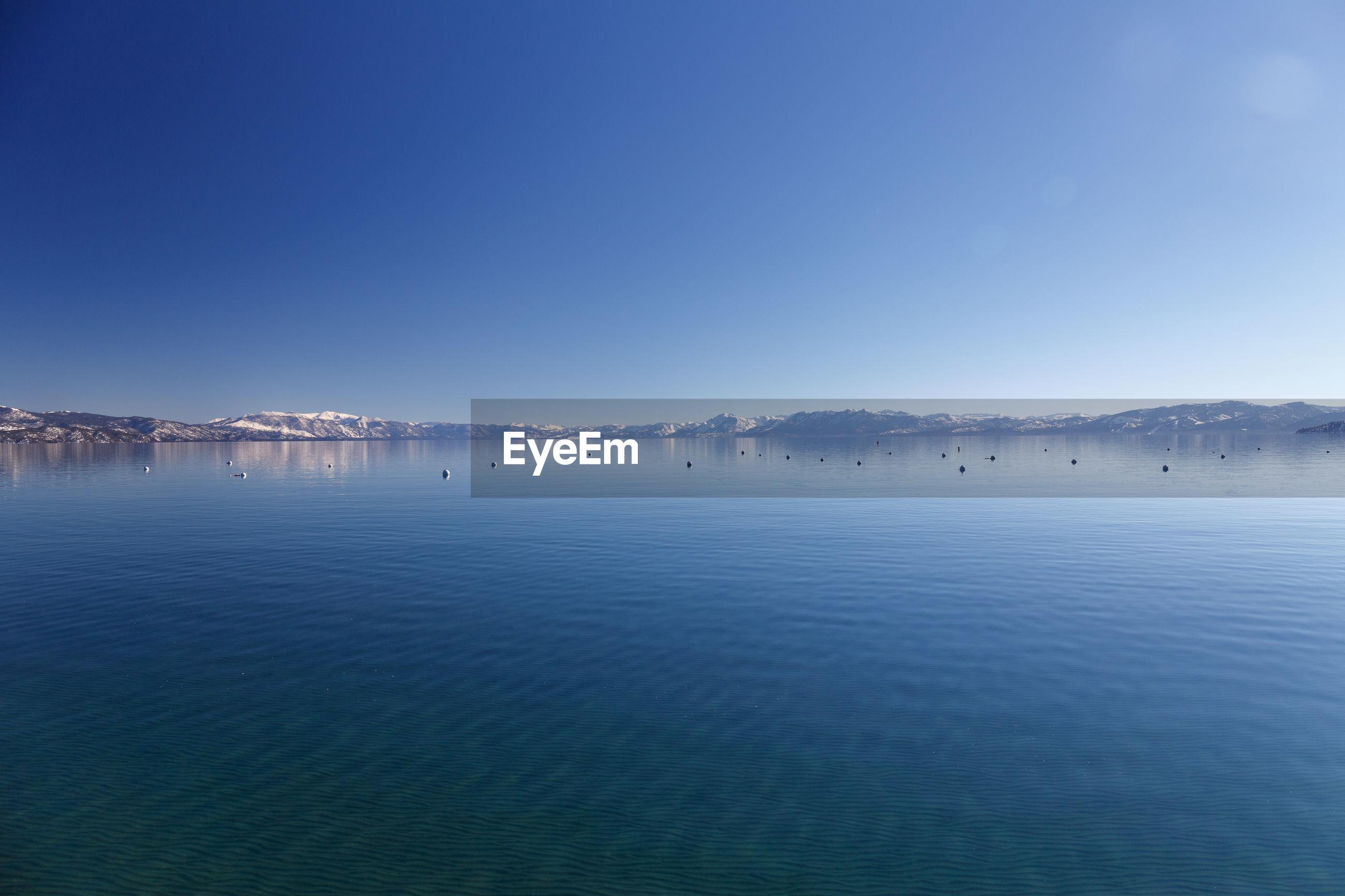 Lake tahoe panorama.